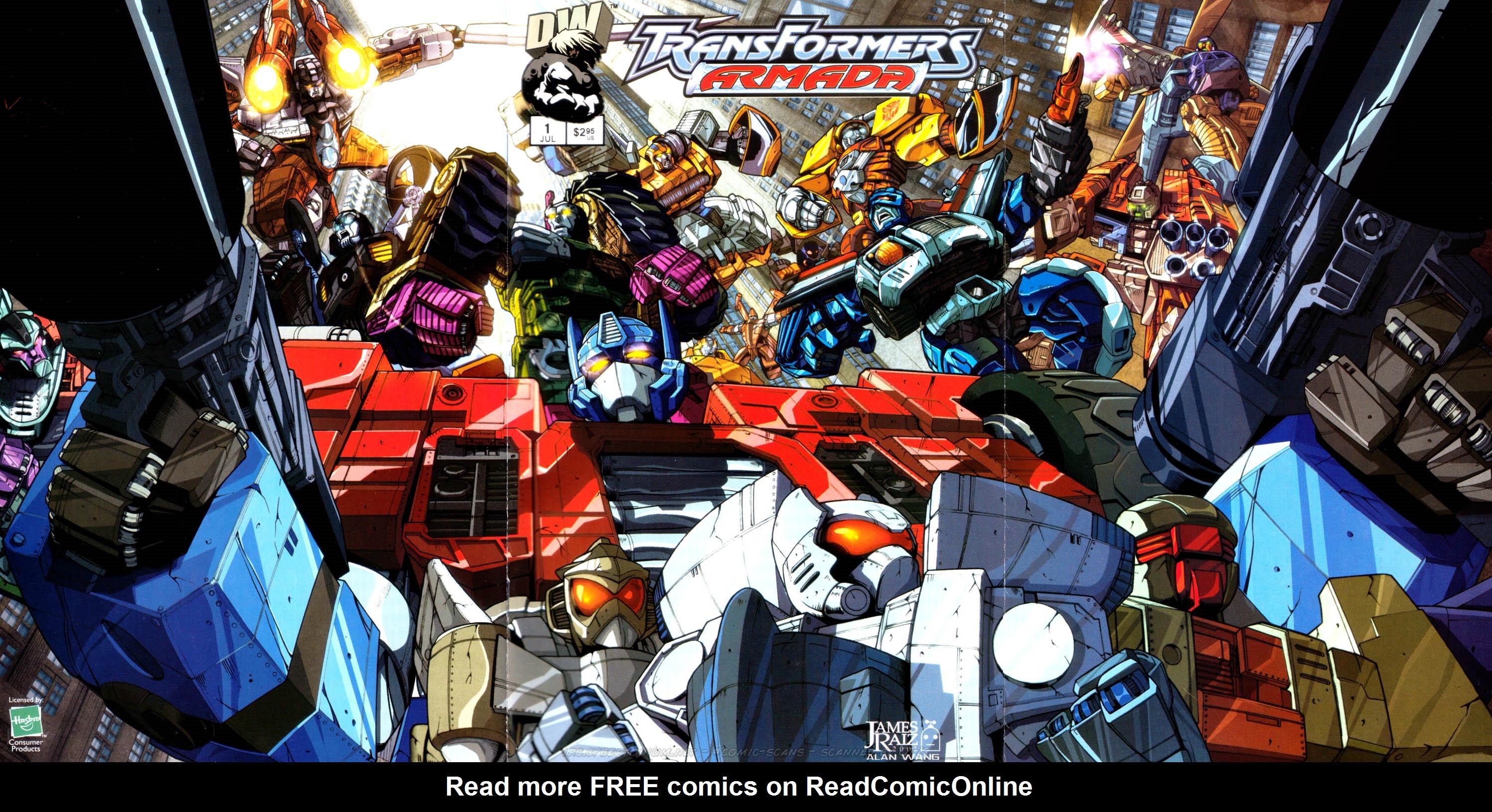Read online Transformers Armada comic -  Issue #1 - 2