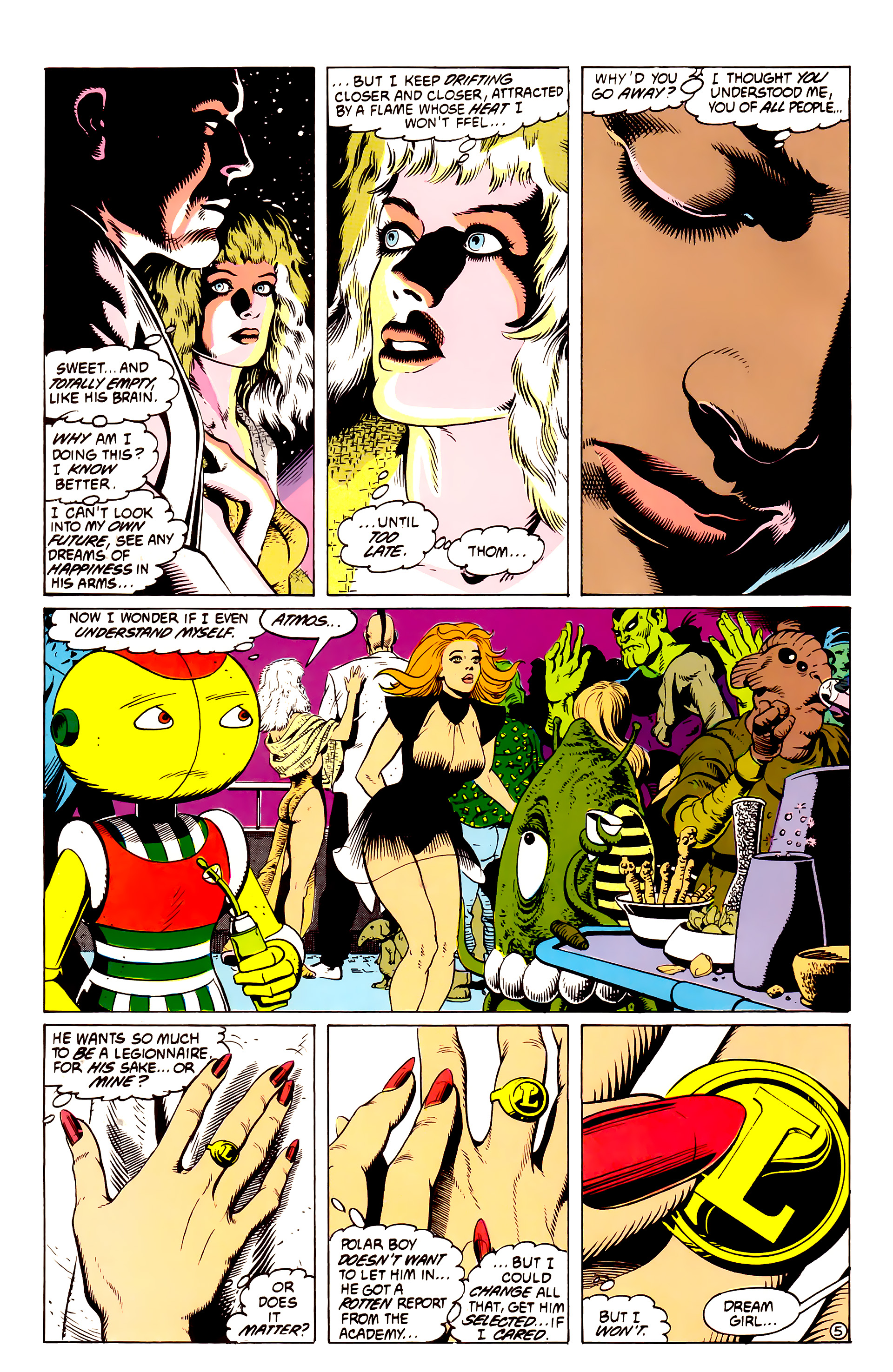 Legion of Super-Heroes (1984) _Annual_4 Page 40