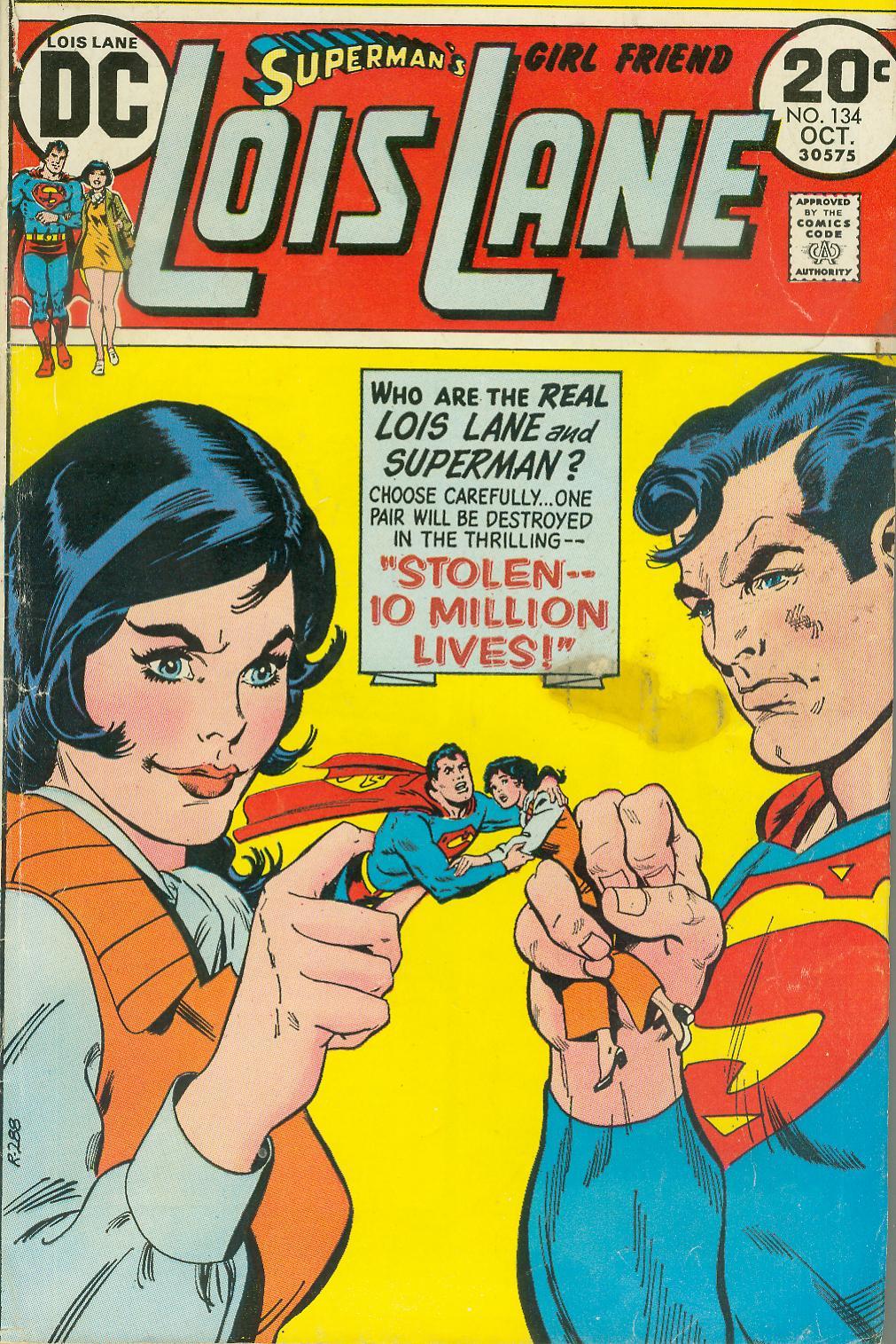 Supermans Girl Friend, Lois Lane 134 Page 1
