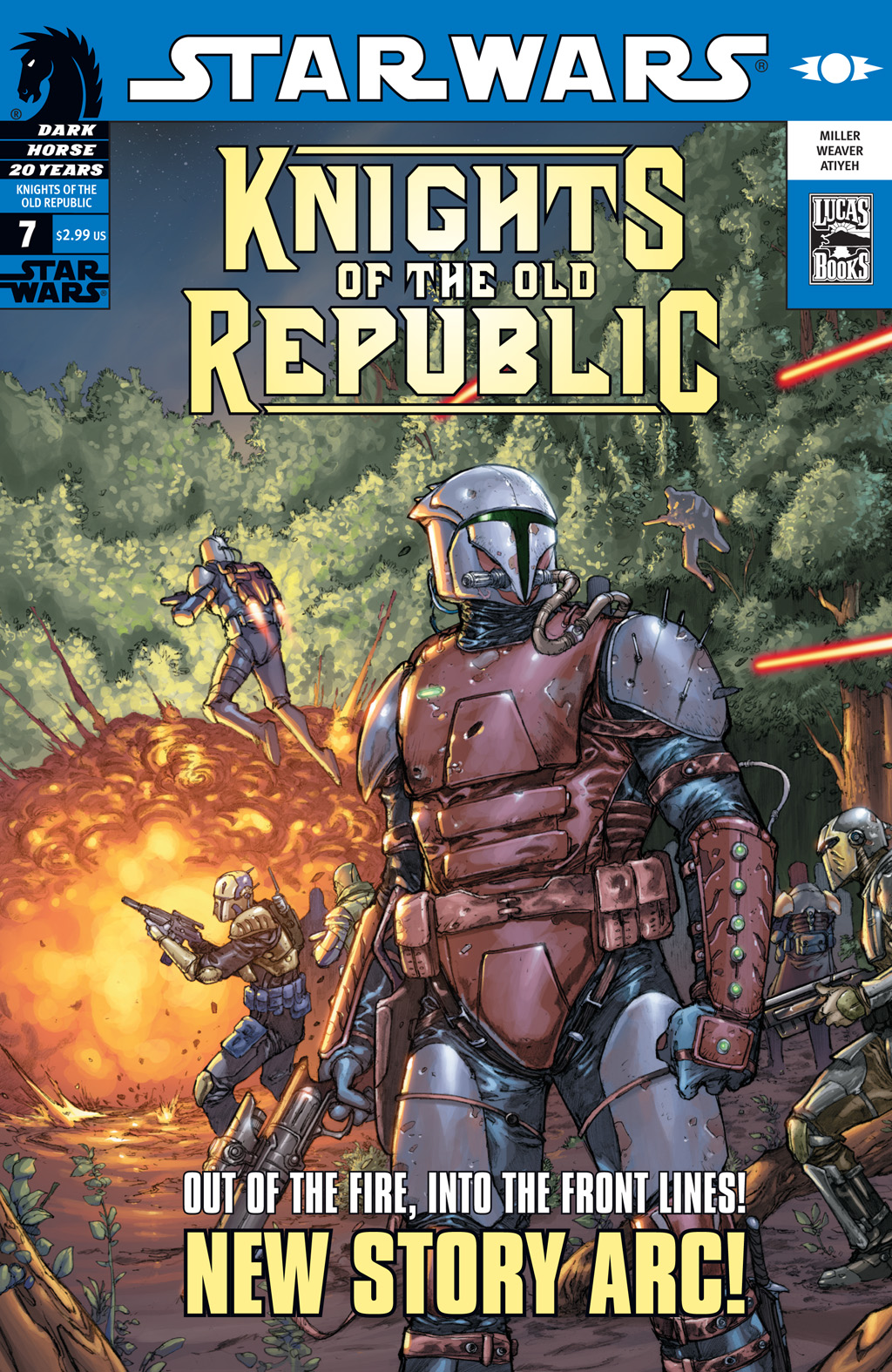 Star Wars: Knights Of The Old Republic issue 7 - Page 1