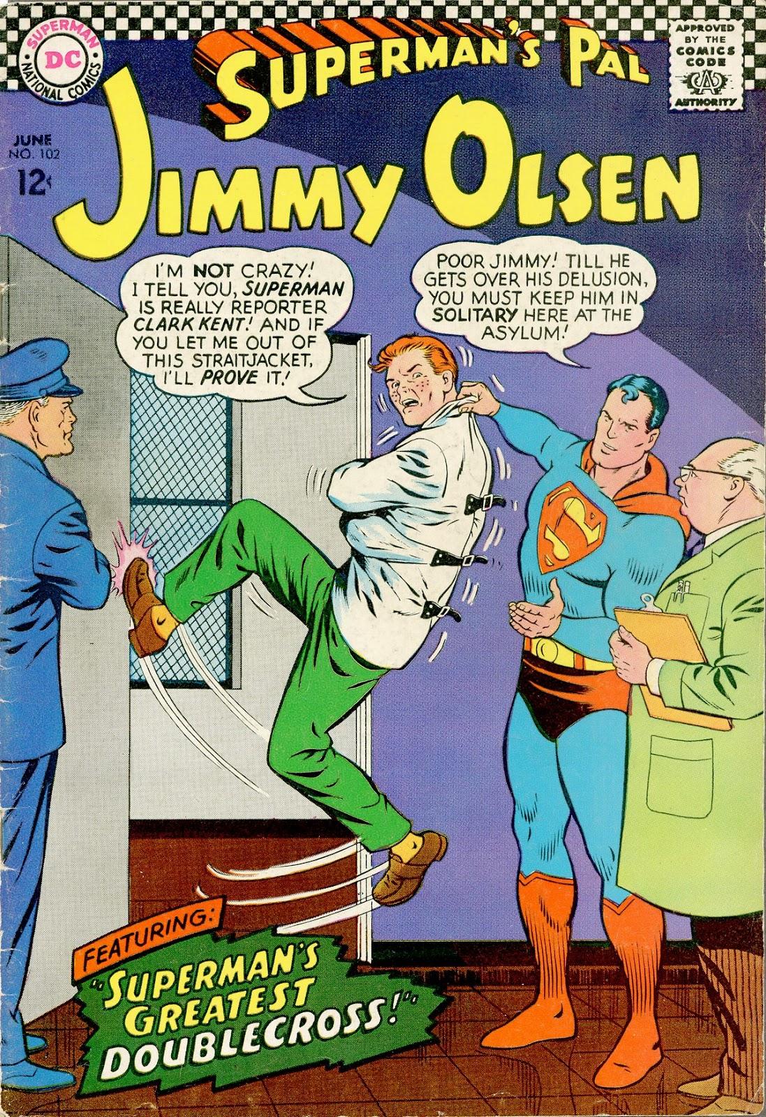 Supermans Pal Jimmy Olsen (1954) 102 Page 1