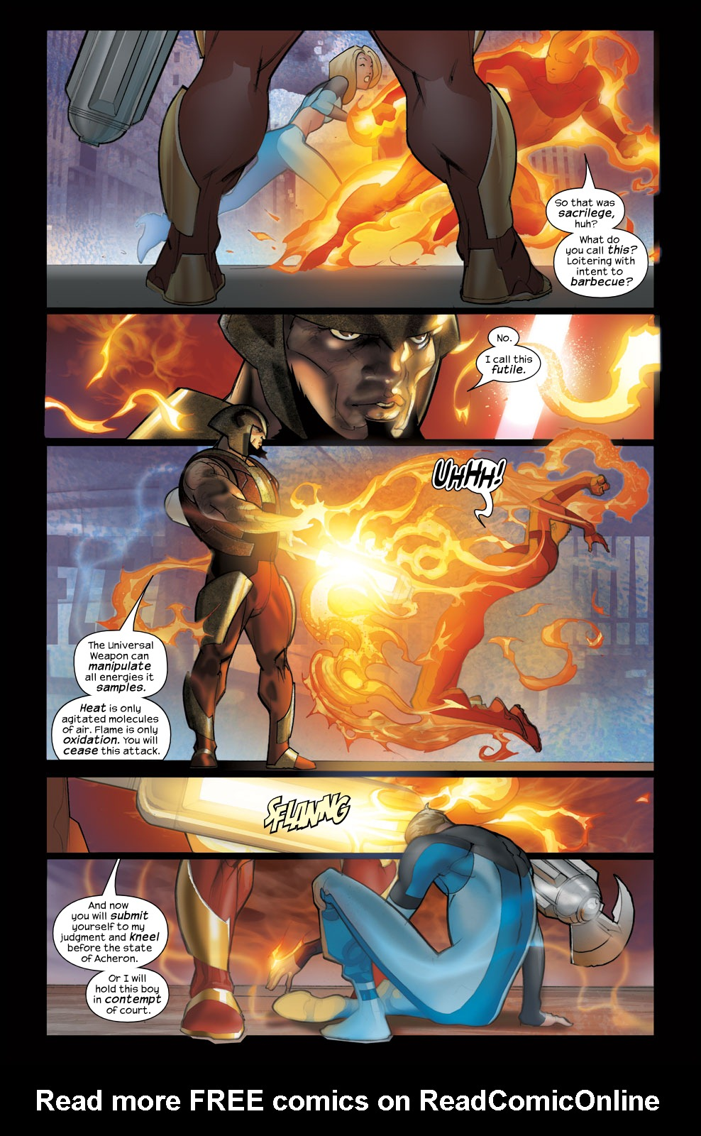 Read online Ultimate Fantastic Four (2004) comic -  Issue #38 - 7