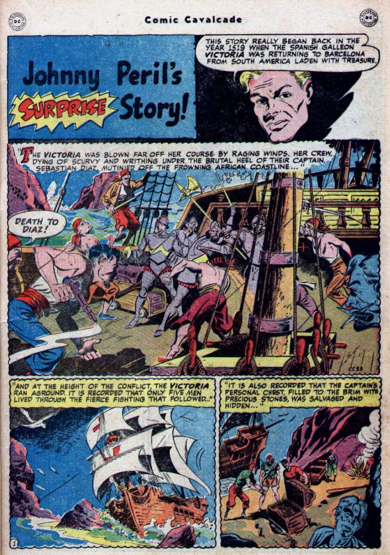 Comic Cavalcade issue 28 - Page 19