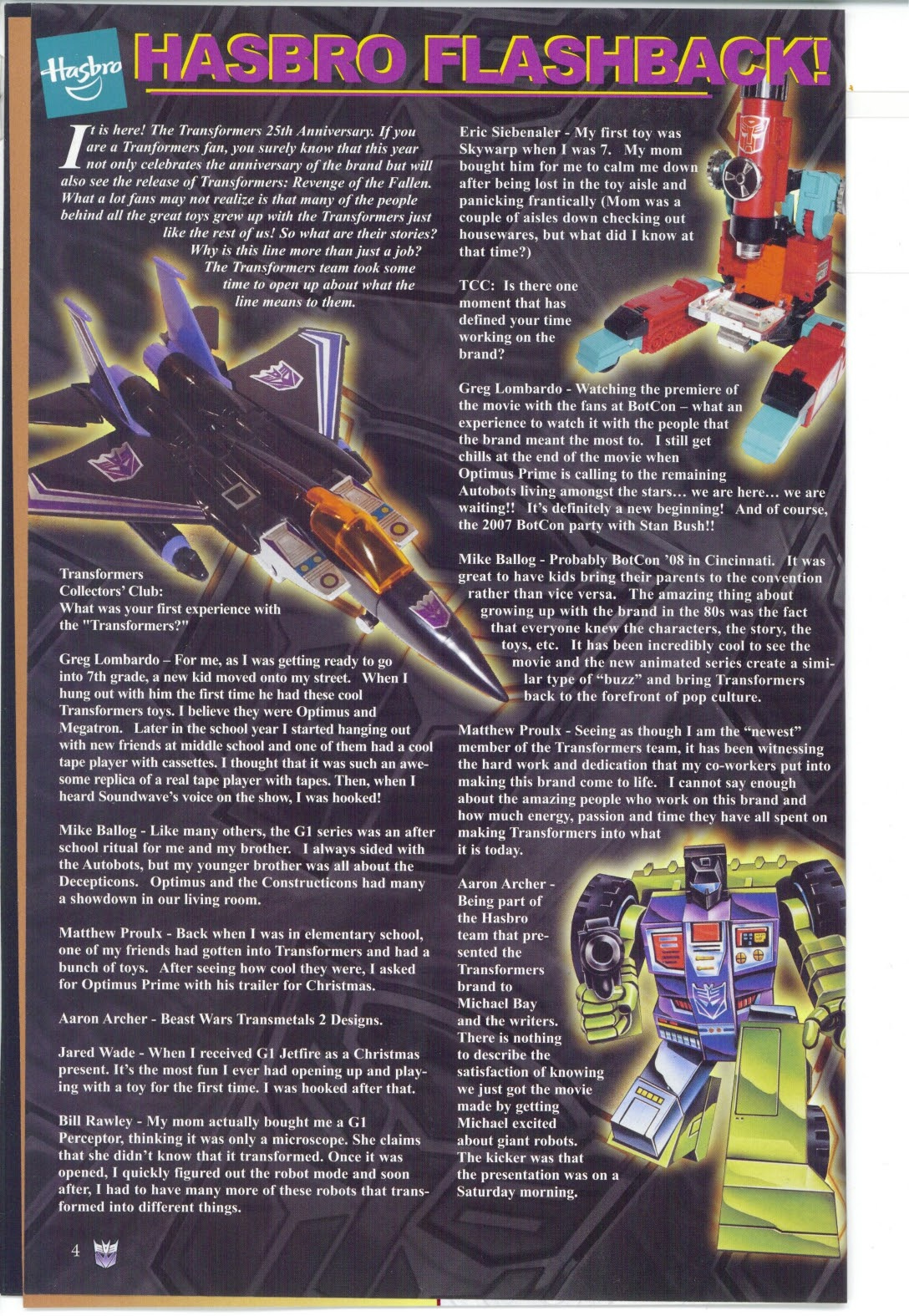 Read online Transformers: Collectors' Club comic -  Issue #25 - 4