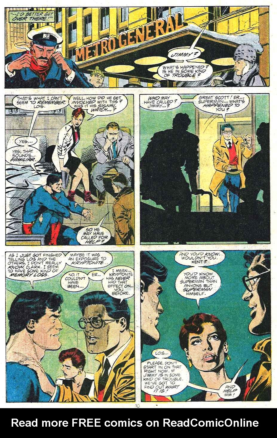 Read online Adventures of Superman (1987) comic -  Issue #439 - 11