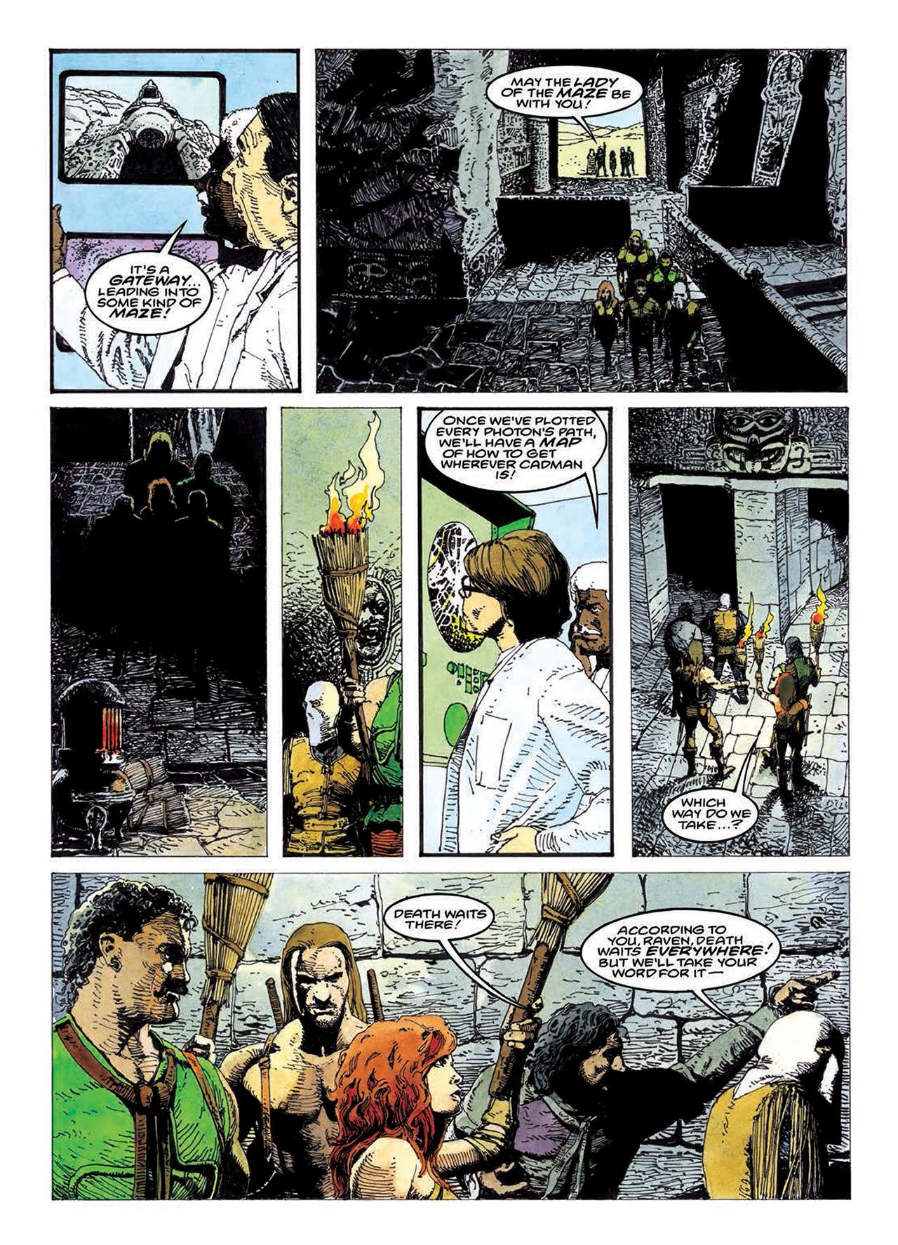 Read online Mazeworld comic -  Issue # TPB - 142