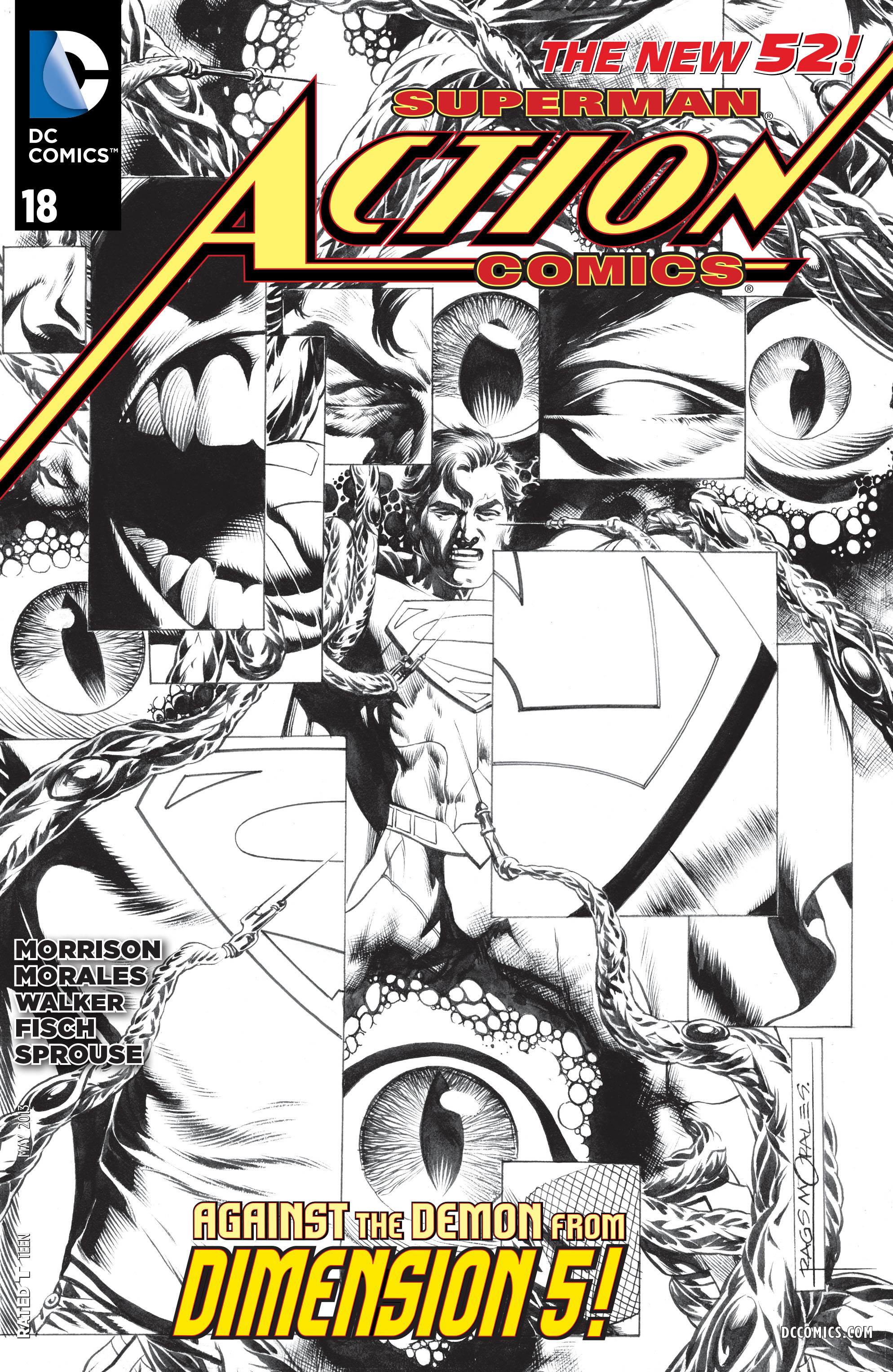 Read online Action Comics (2011) comic -  Issue #18 - 3