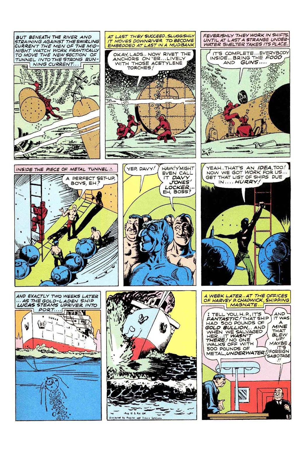 Read online Will Eisner's The Spirit Archives comic -  Issue # TPB 2 (Part 1) - 35