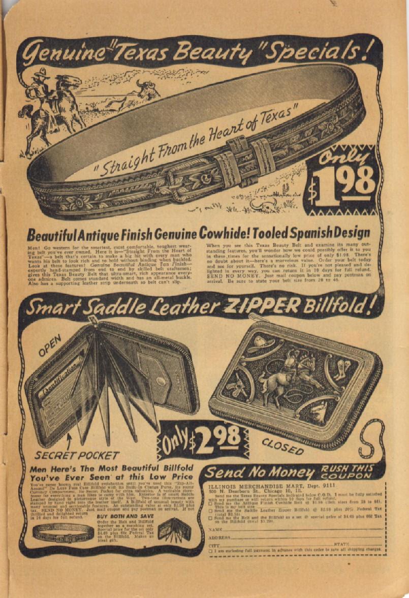 Read online Super-Magician Comics comic -  Issue #47 - 51