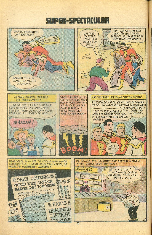 Read online Shazam! (1973) comic -  Issue #8 - 70