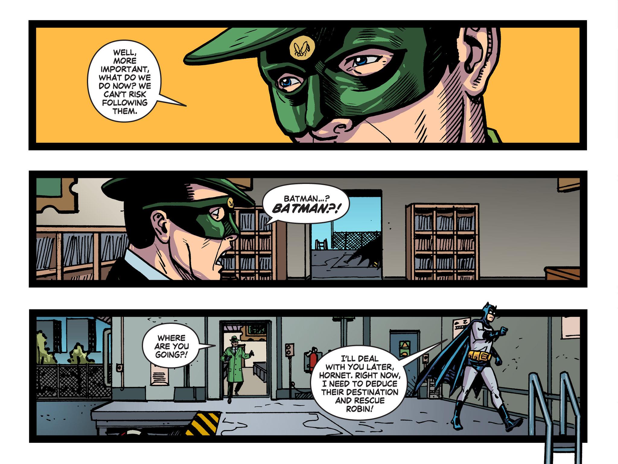 Read online Batman '66 Meets the Green Hornet [II] comic -  Issue #5 - 29