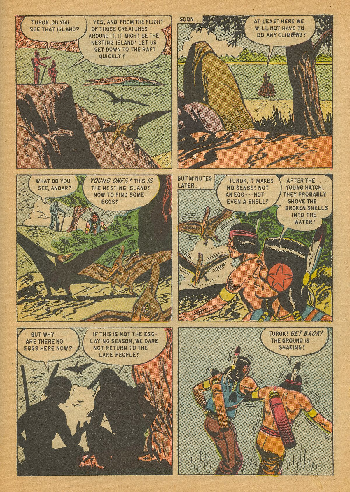 Read online Turok, Son of Stone comic -  Issue #14 - 31