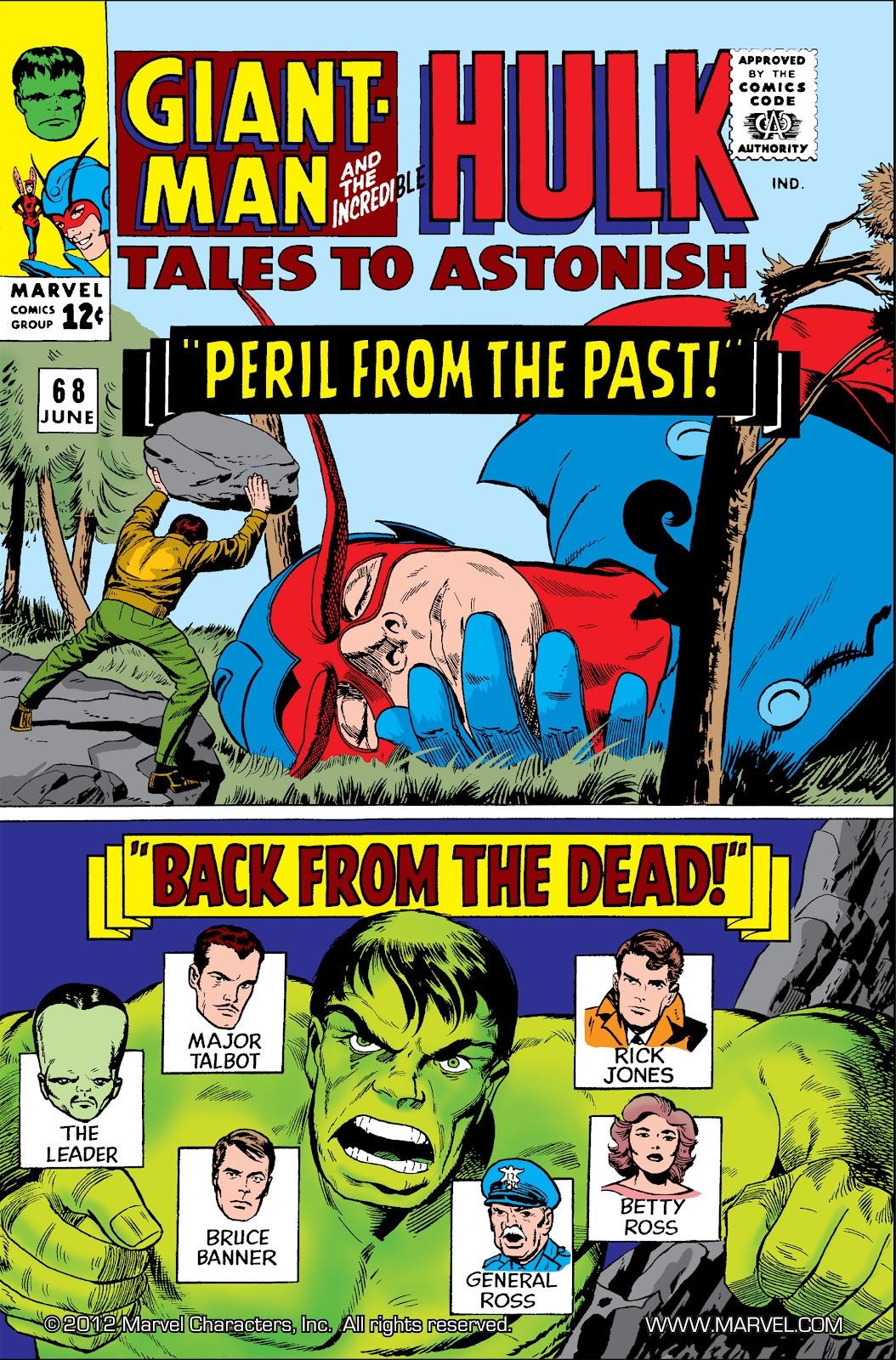 Read online Marvel Masterworks: The Incredible Hulk comic -  Issue # TPB 2 (Part 2) - 12