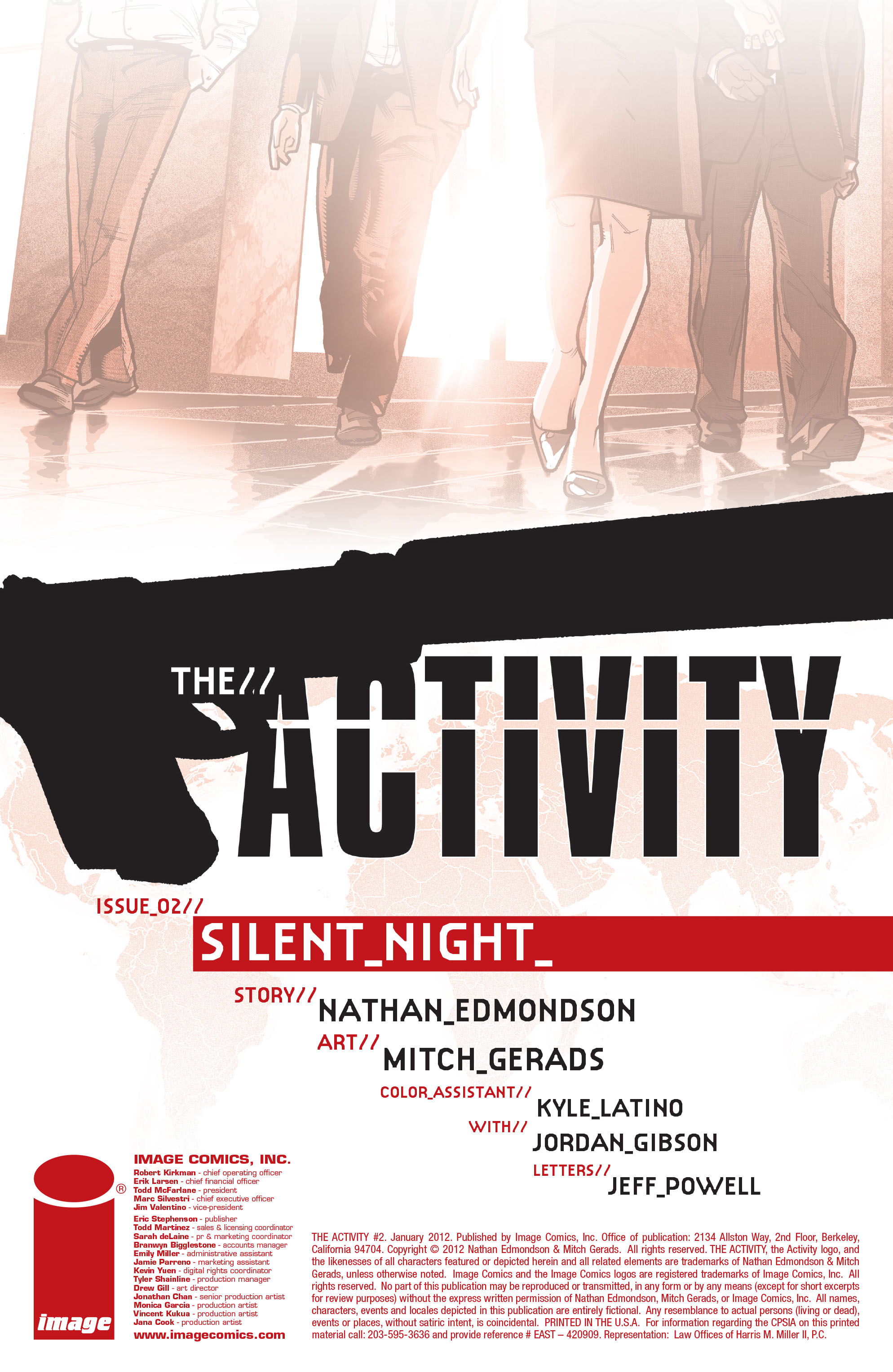 Read online The Activity comic -  Issue #2 - 2