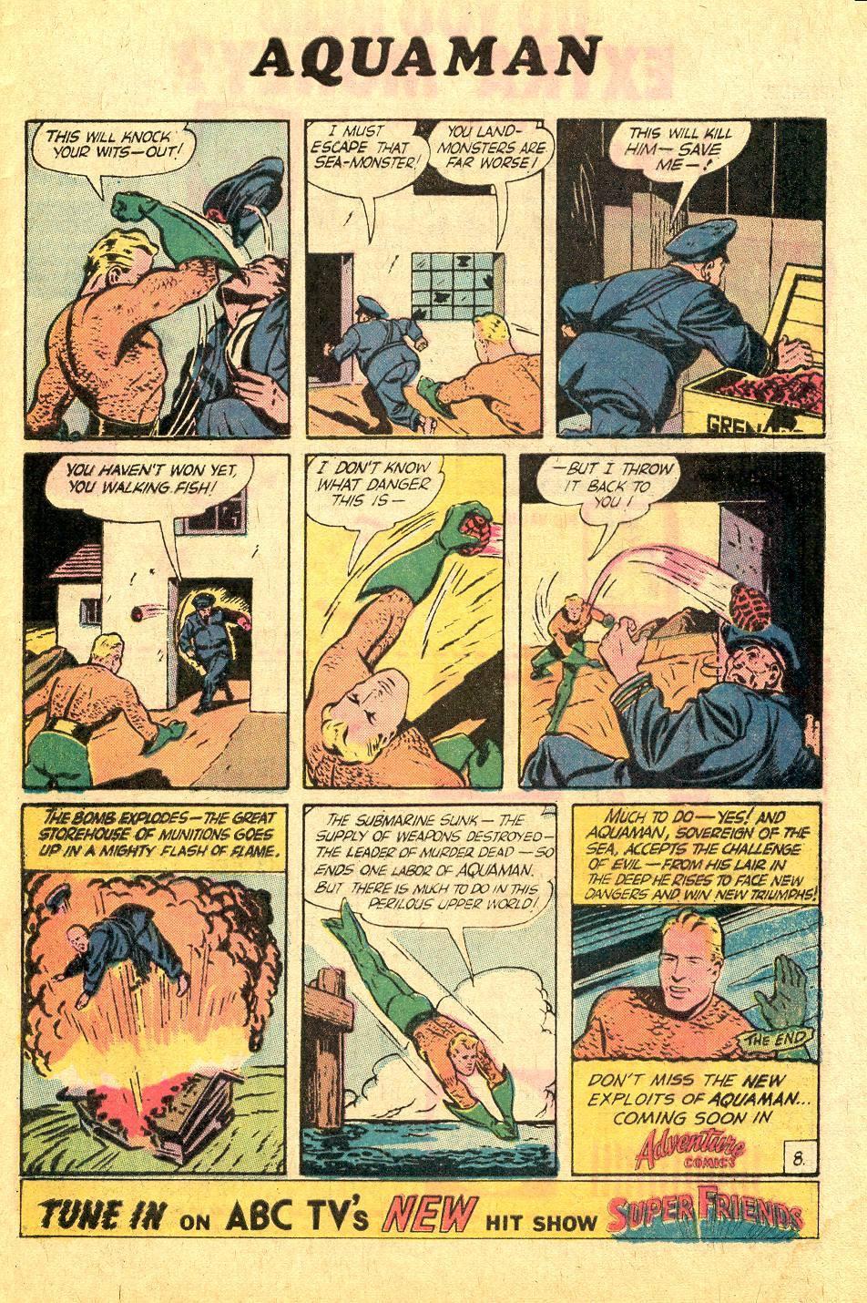 Read online Secret Origins (1973) comic -  Issue #7 - 32