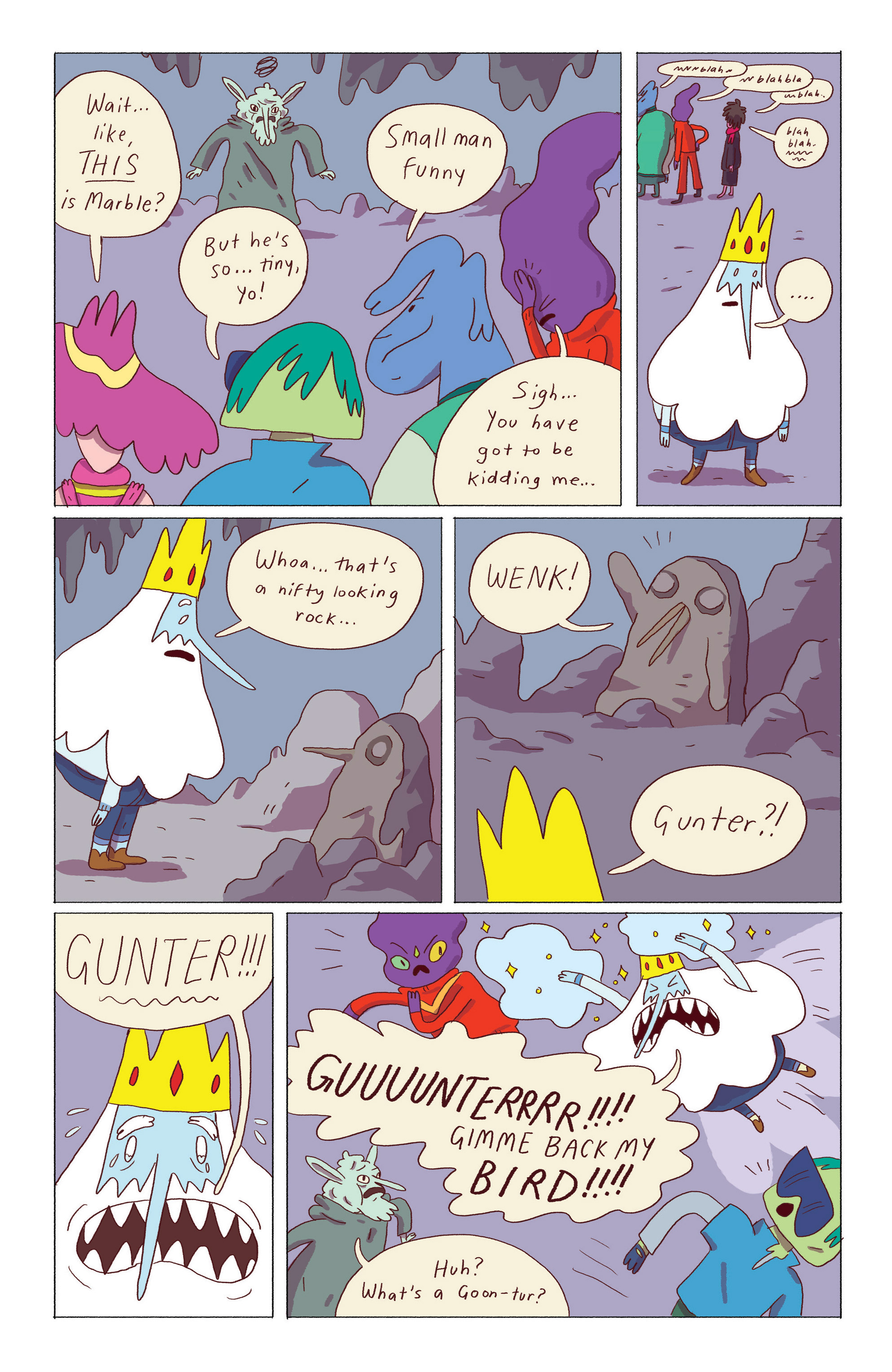 Read online Adventure Time: Ice King comic -  Issue #5 - 19