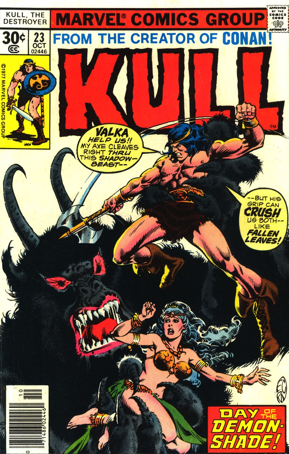 Kull The Destroyer issue 23 - Page 1
