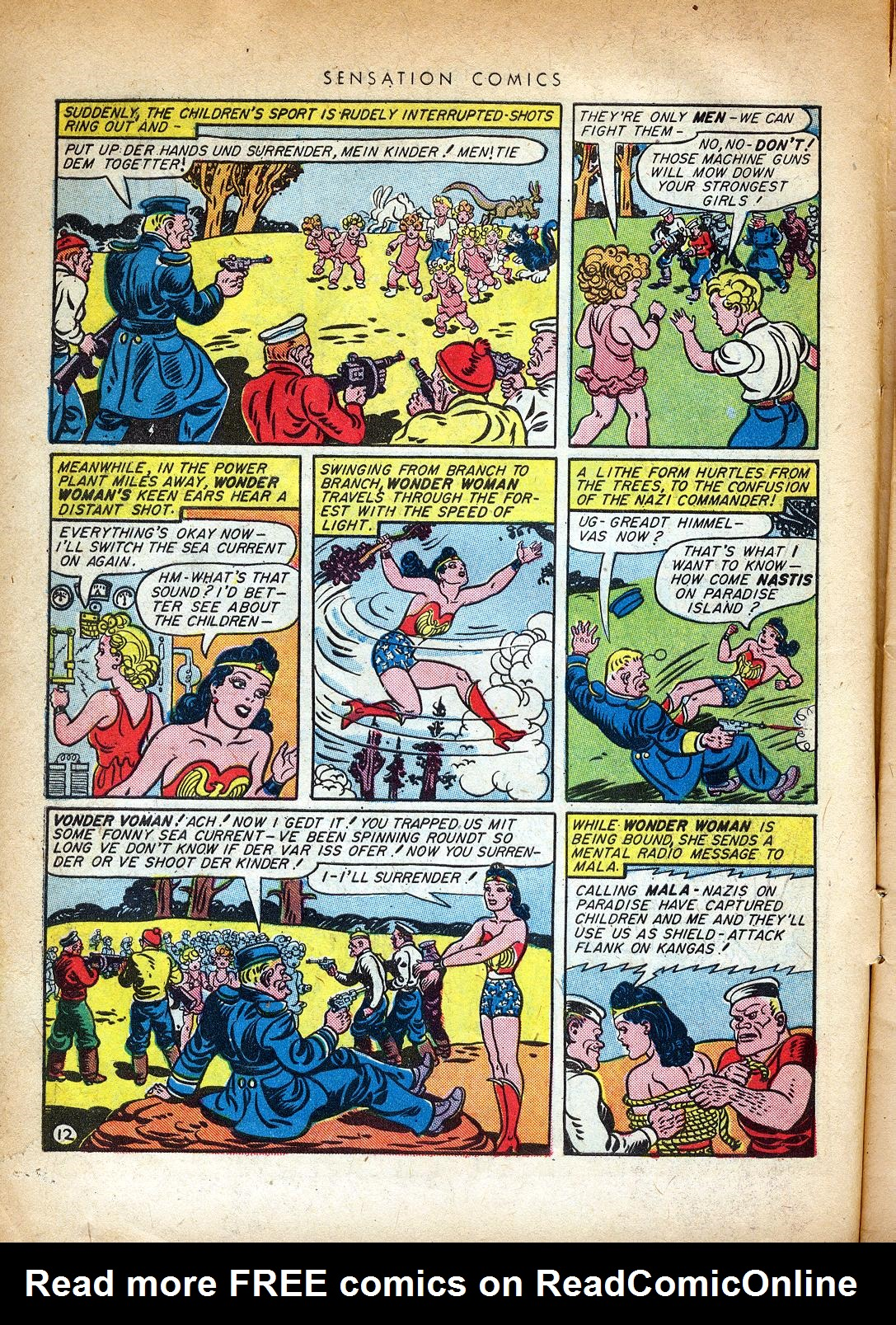 Read online Sensation (Mystery) Comics comic -  Issue #37 - 14