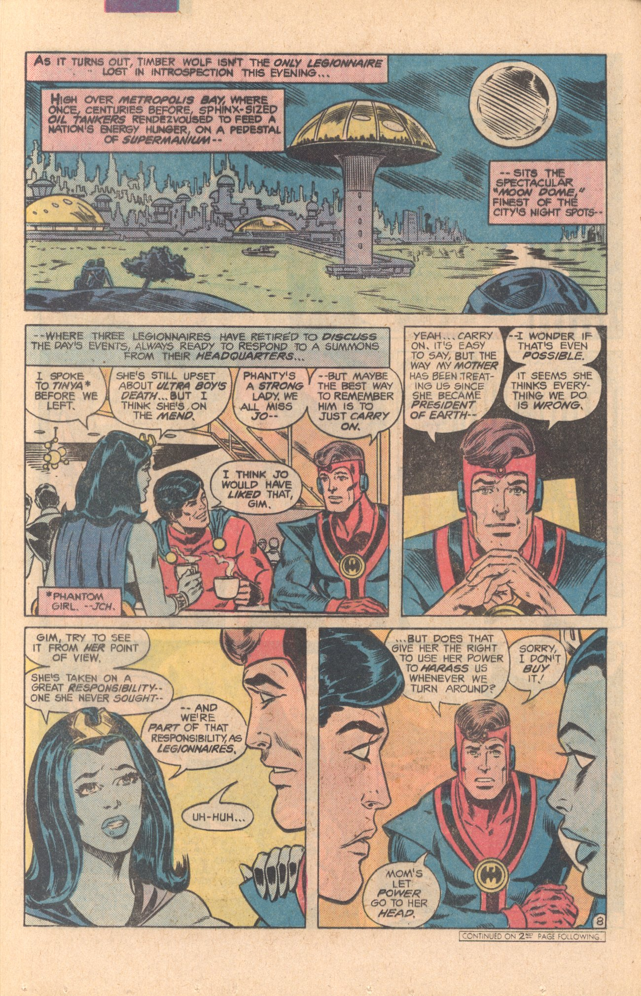 Legion of Super-Heroes (1980) 275 Page 8