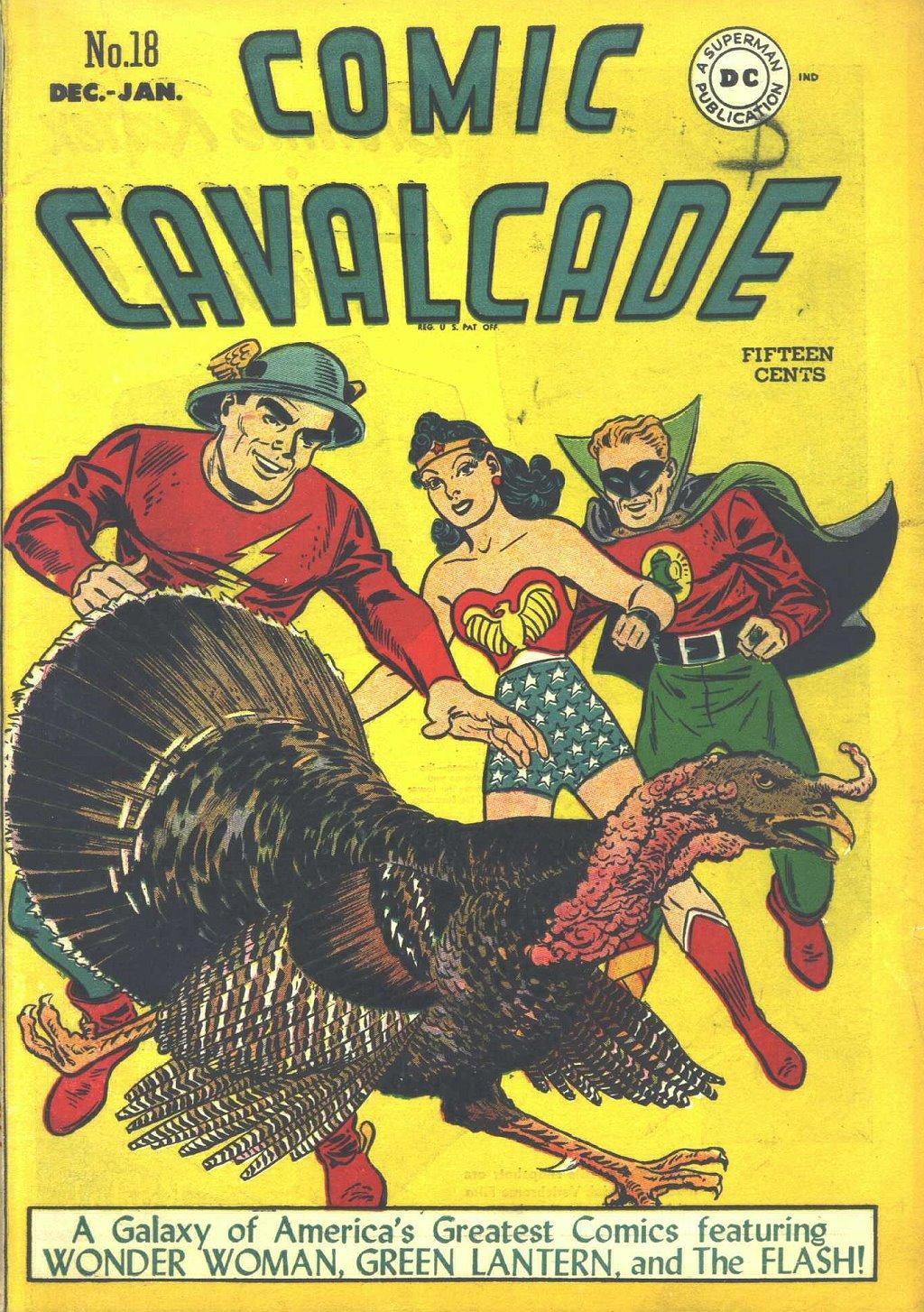 Comic Cavalcade issue 18 - Page 1