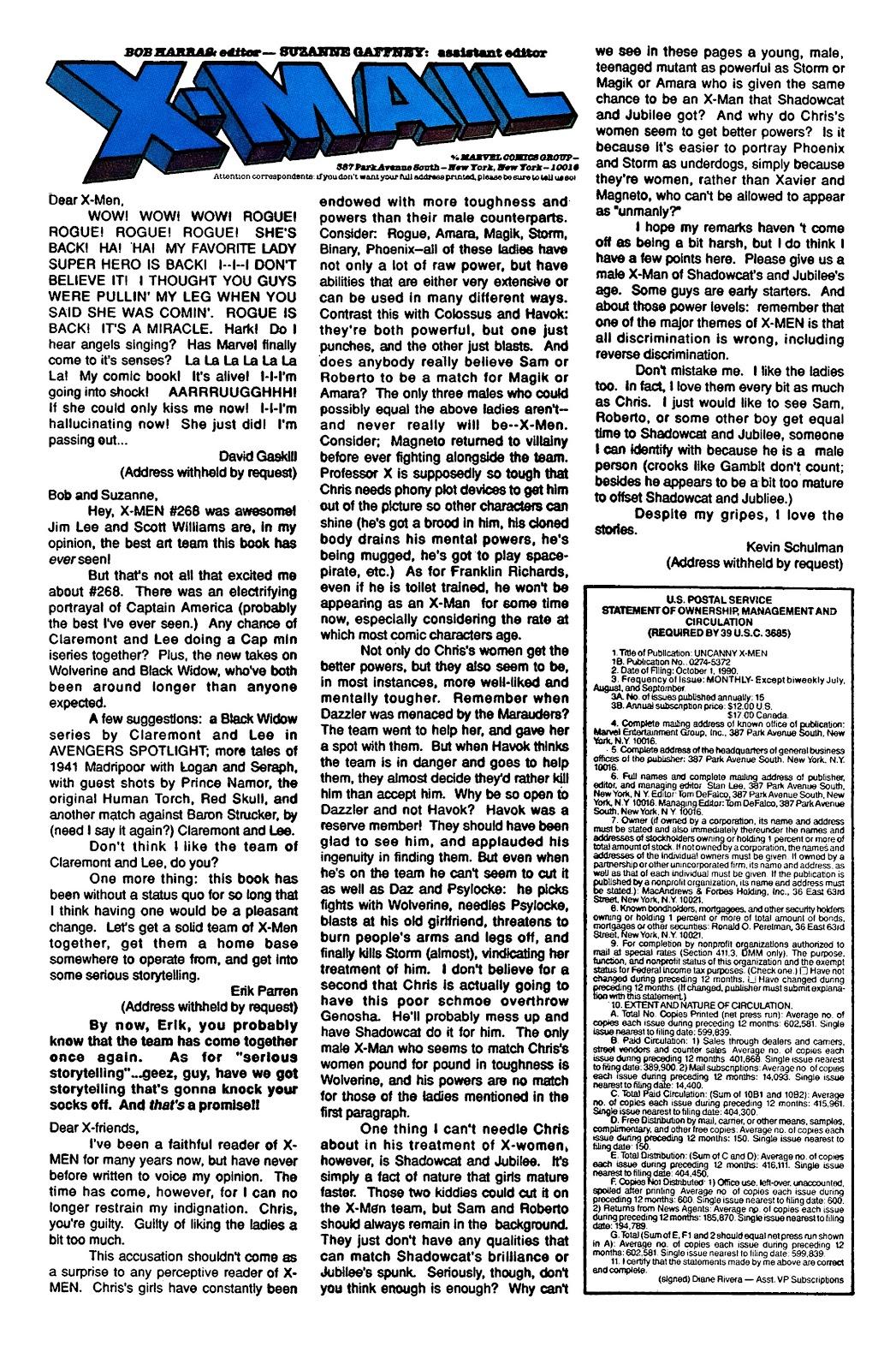 Uncanny X-Men (1963) issue 274 - Page 24