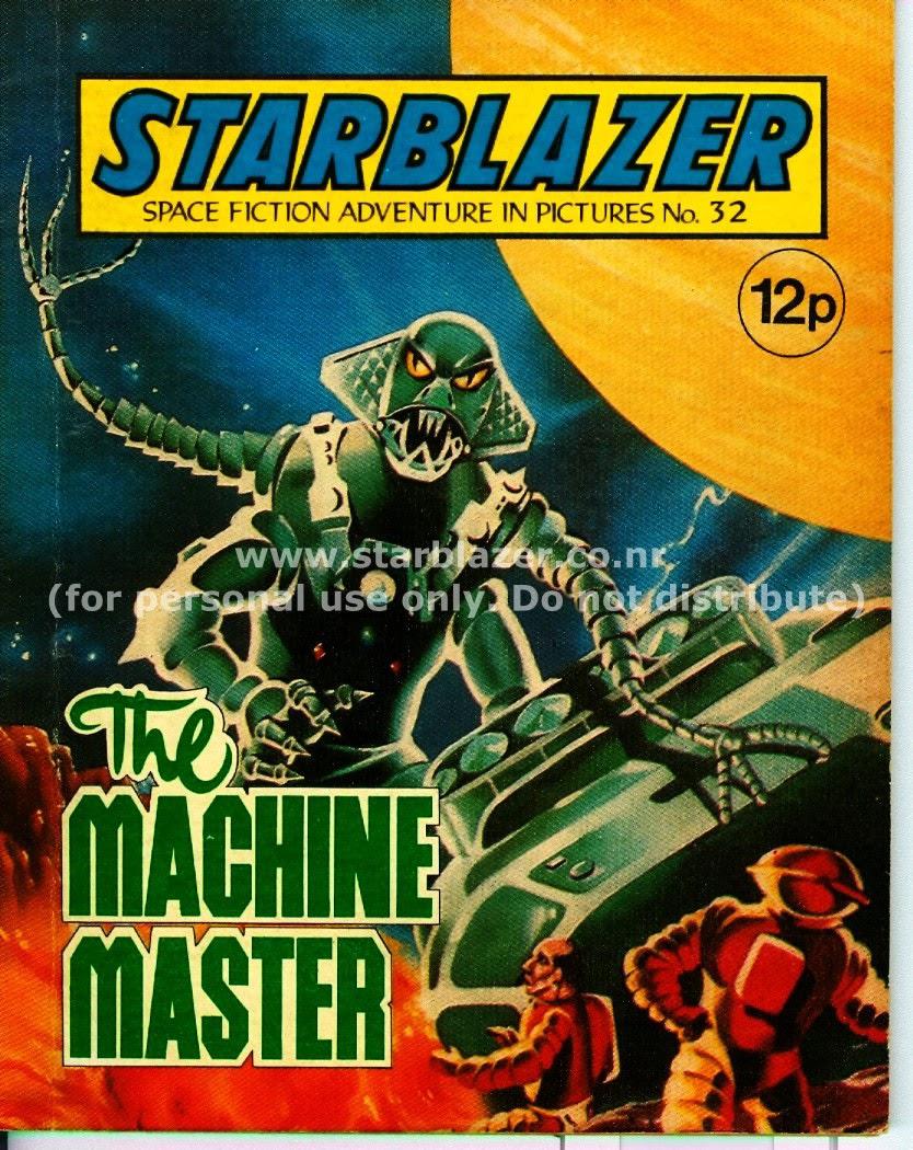 Starblazer issue 32 - Page 1