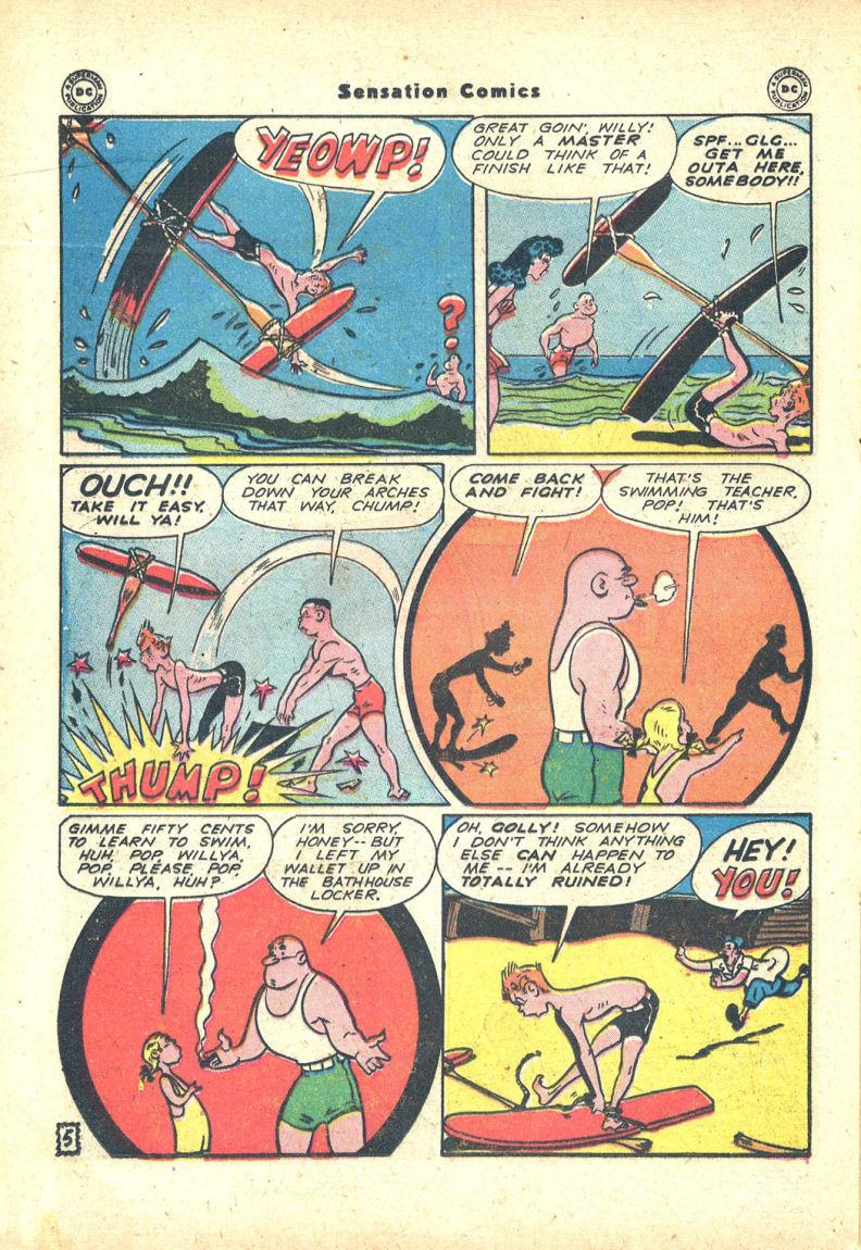 Read online Sensation (Mystery) Comics comic -  Issue #68 - 28