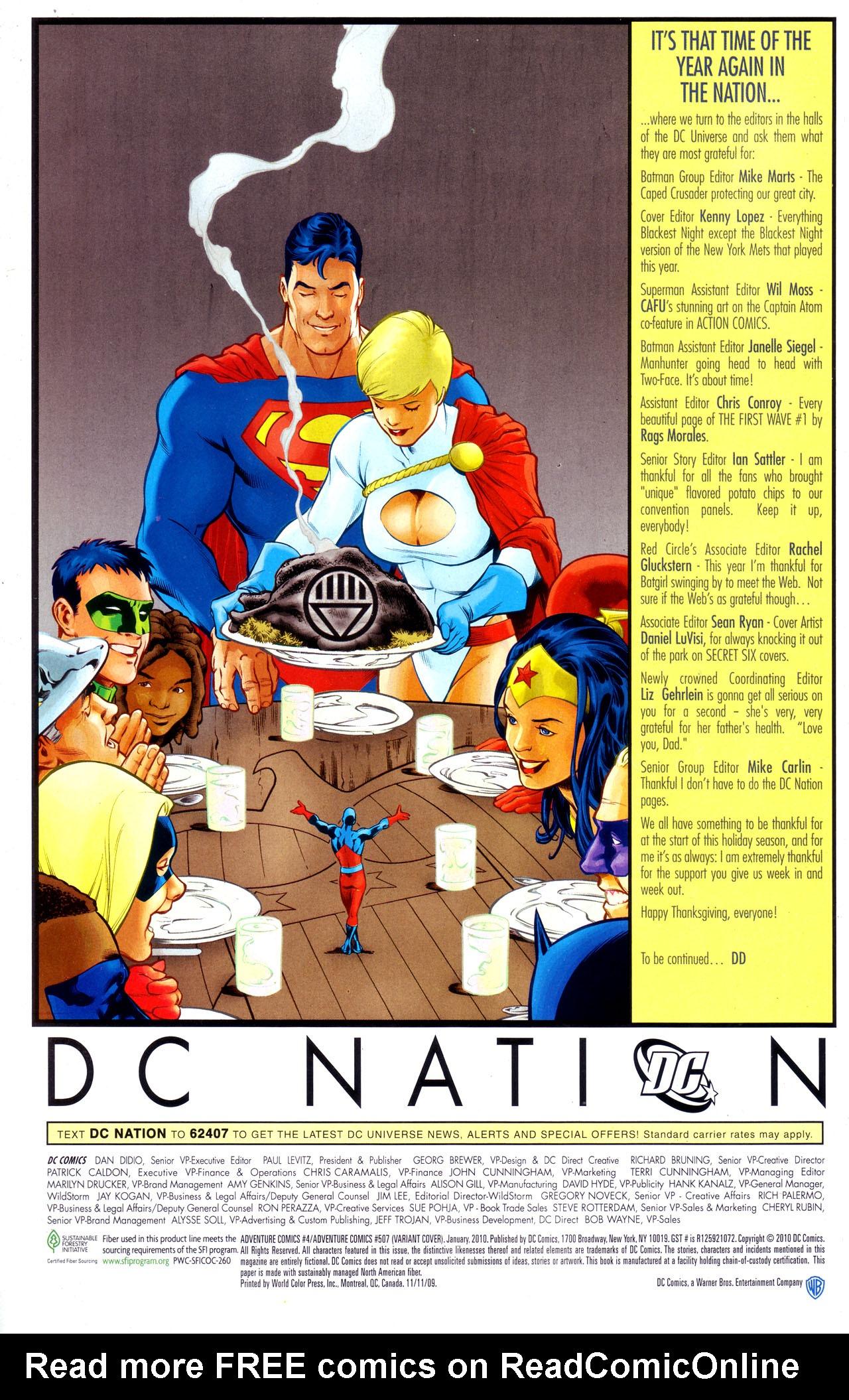 Read online Adventure Comics (2009) comic -  Issue #4 - 33