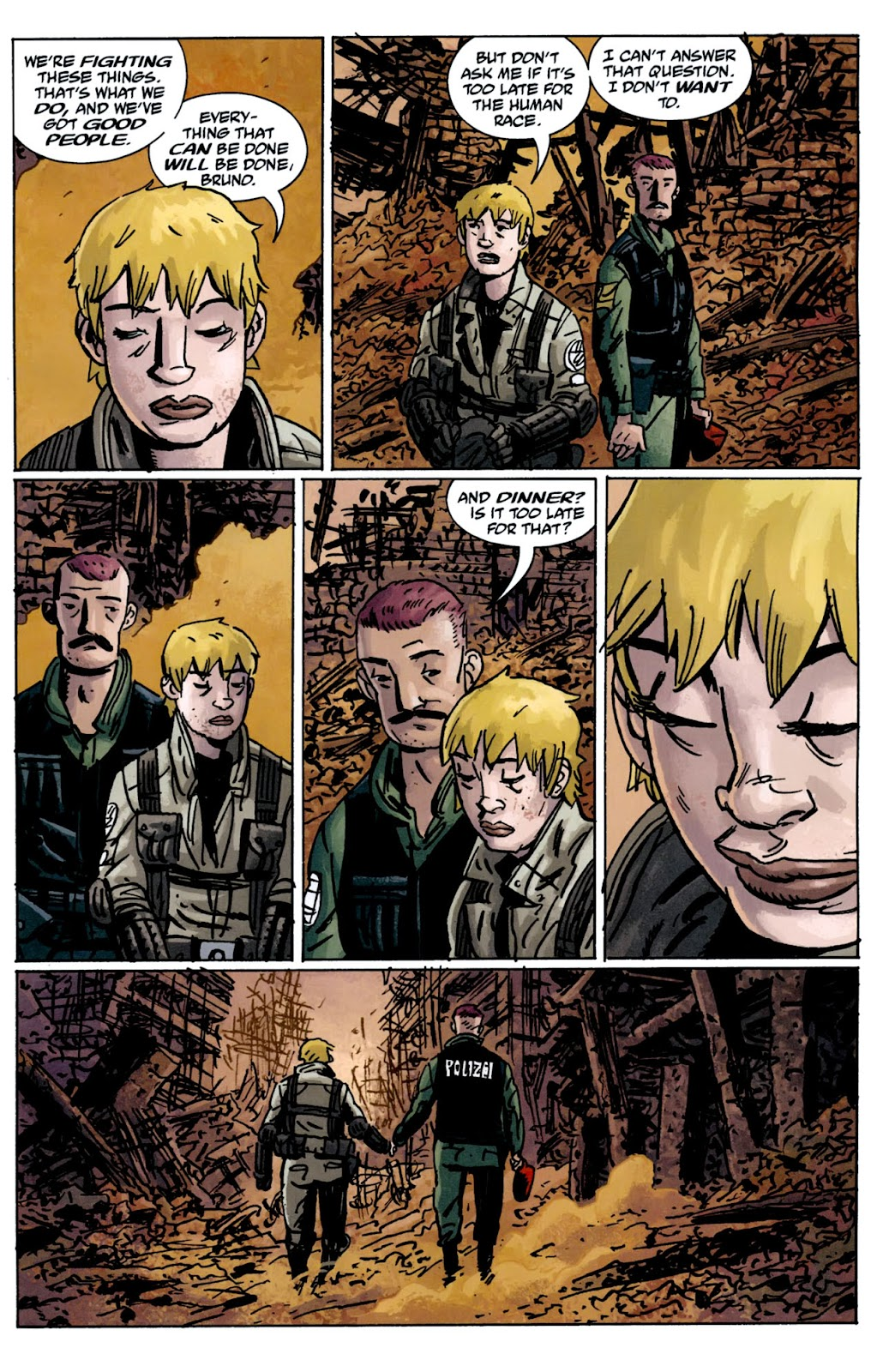 B.P.R.D.: The Warning issue 5 - Page 17
