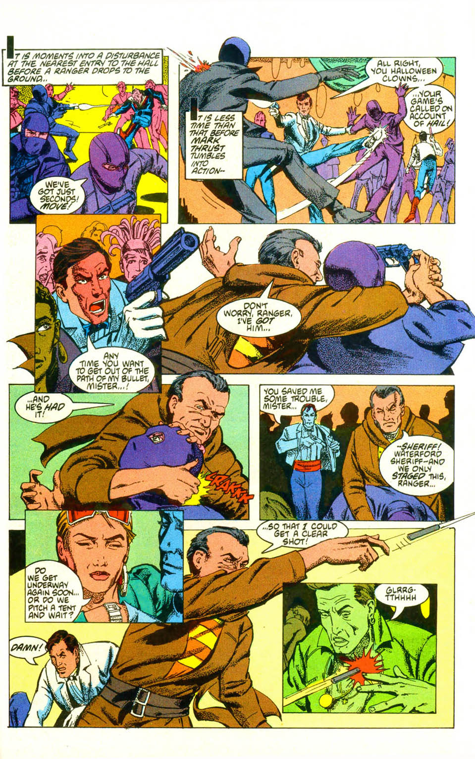 Read online American Flagg! comic -  Issue #19 - 28