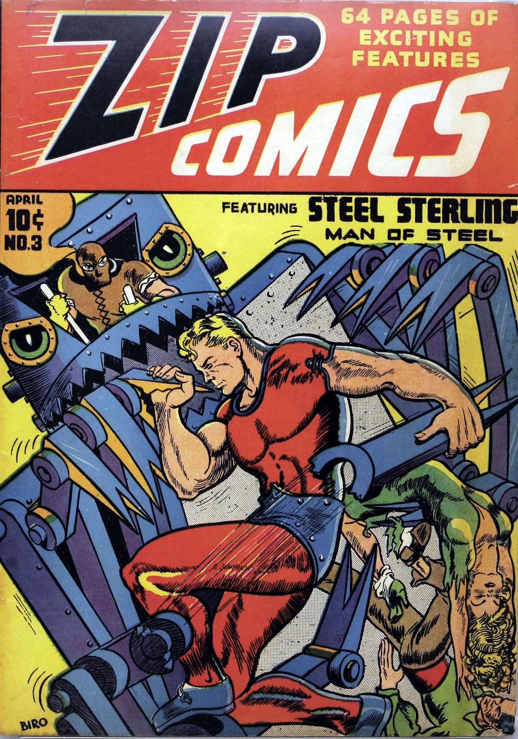 Zip Comics 3 Page 1