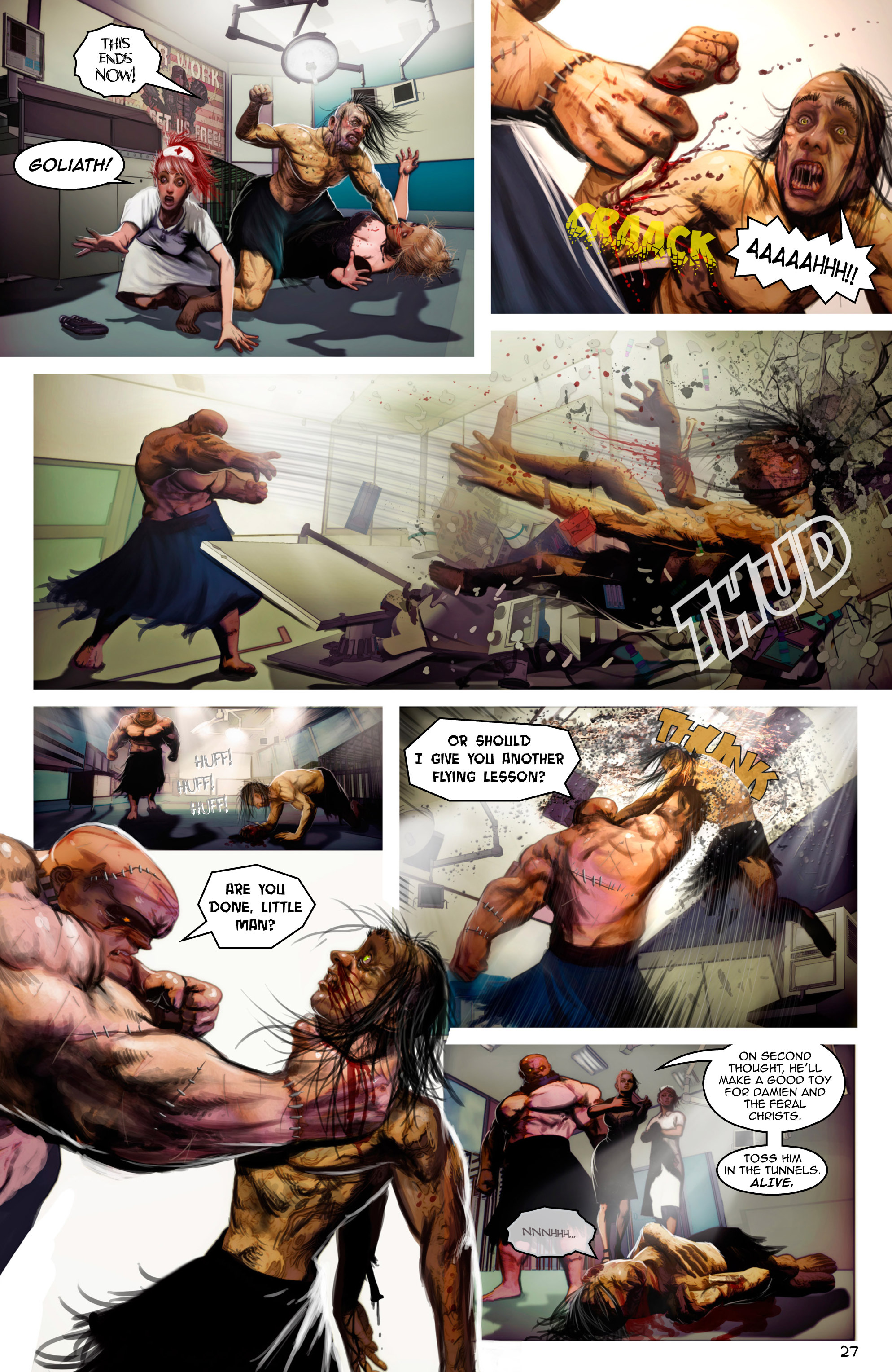 Read online Escape from Jesus Island comic -  Issue #2 - 27