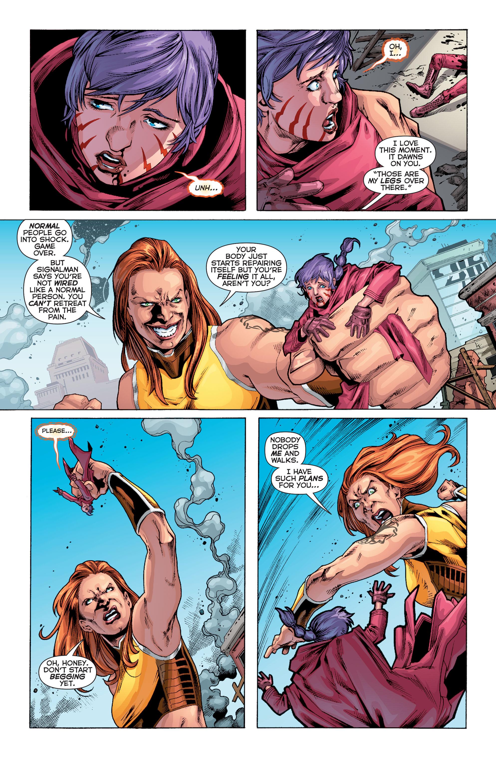 Read online Trinity of Sin: Pandora comic -  Issue #10 - 12
