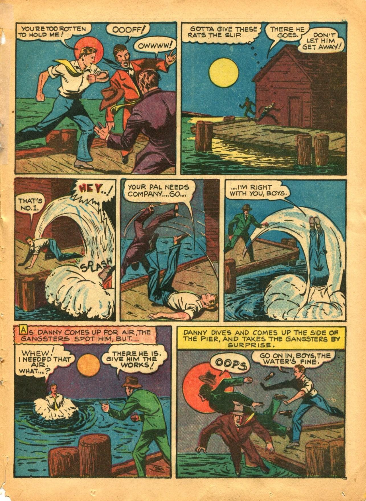 Read online Shadow Comics comic -  Issue #12 - 47