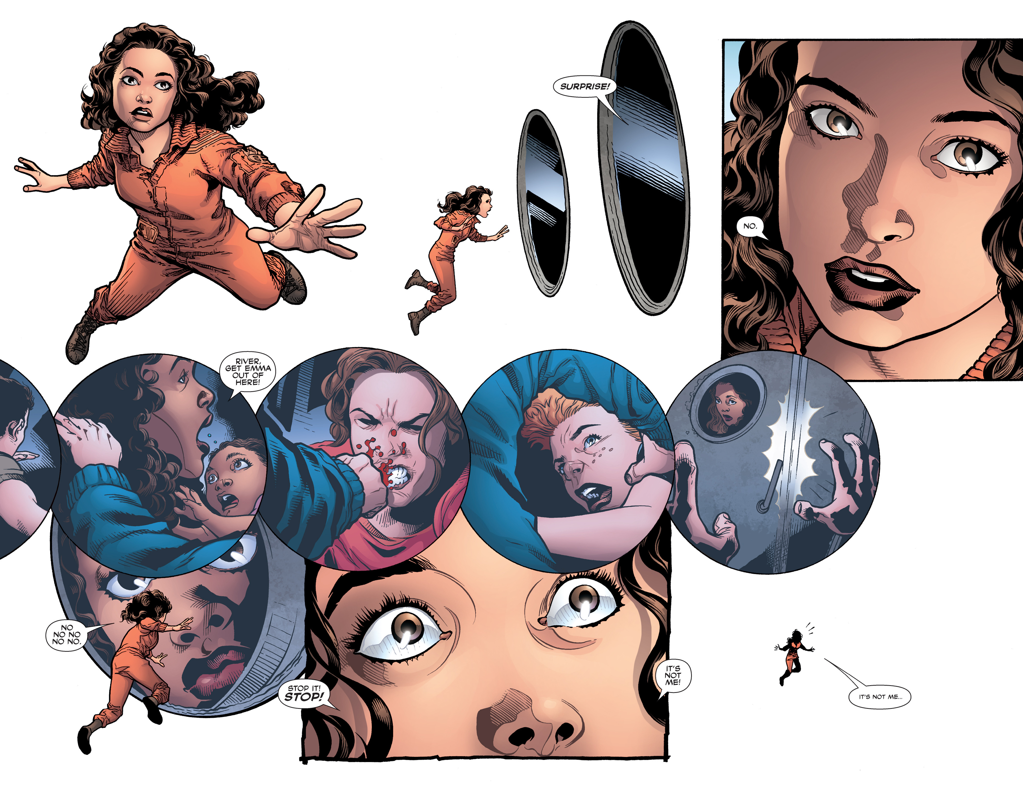 Read online Serenity: Firefly Class 03-K64 – No Power in the 'Verse comic -  Issue #5 - 7