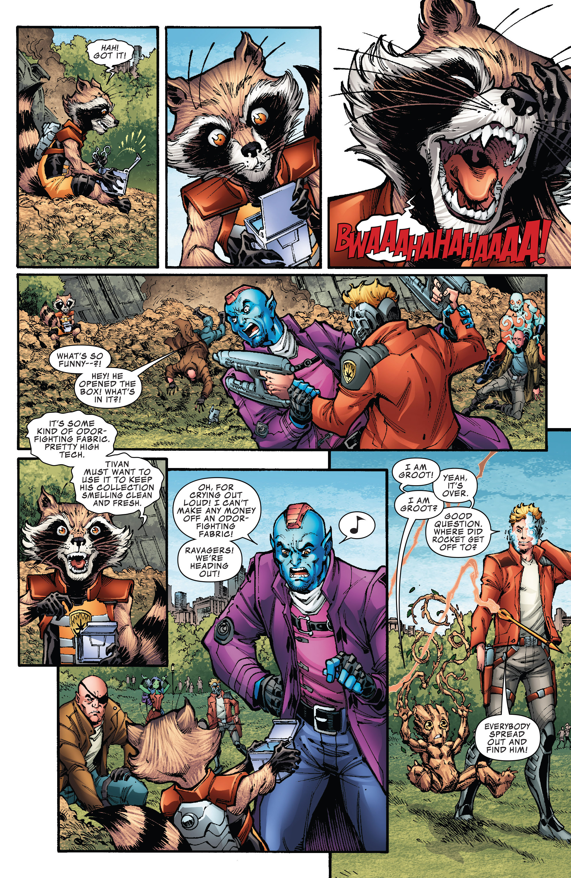 Read online Hi-Tech Heroes Presented By Hanes comic -  Issue # Full - 11
