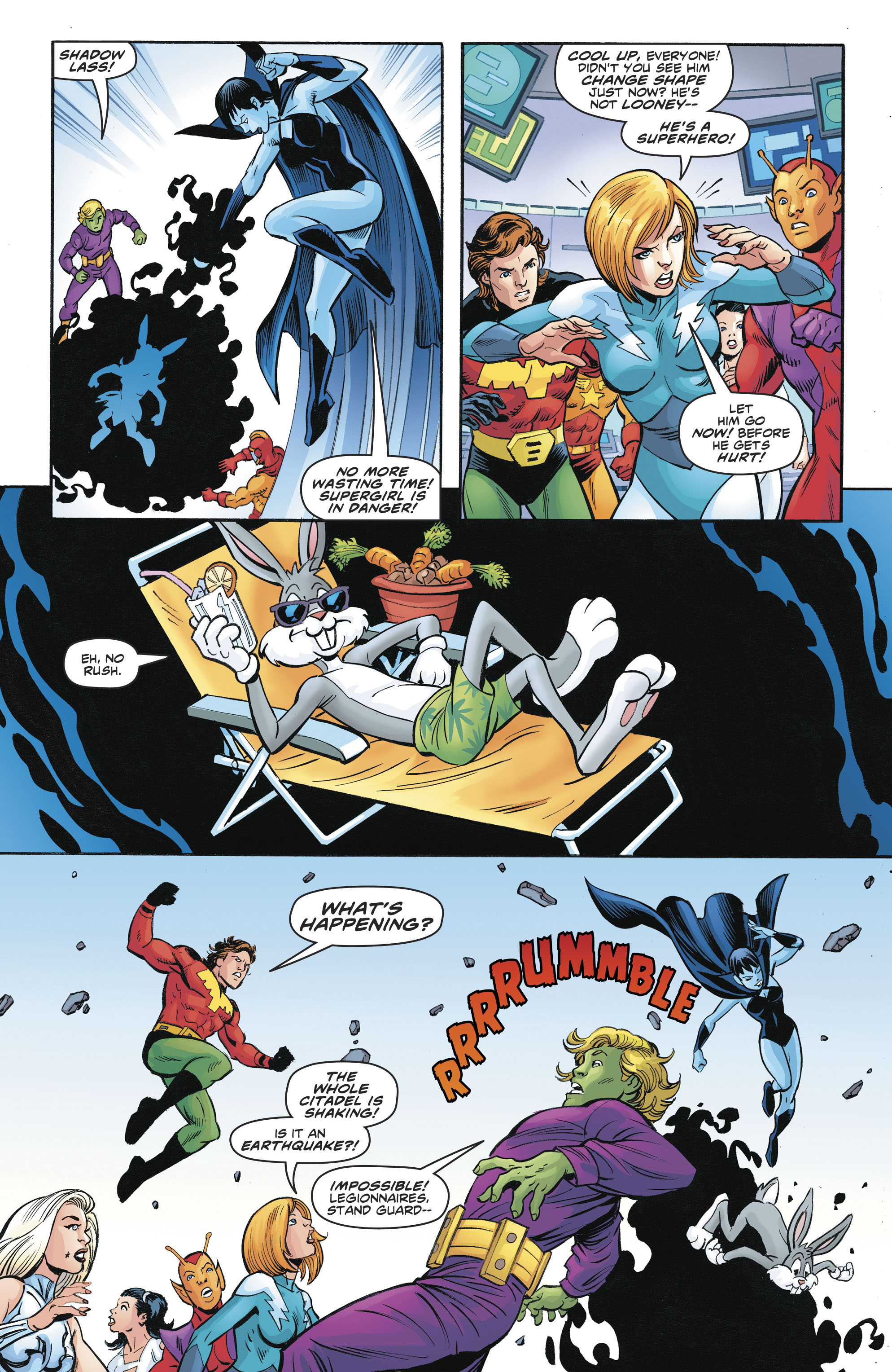 Read online Legion of Super-Heroes/Bugs Bunny Special comic -  Issue # Full - 20