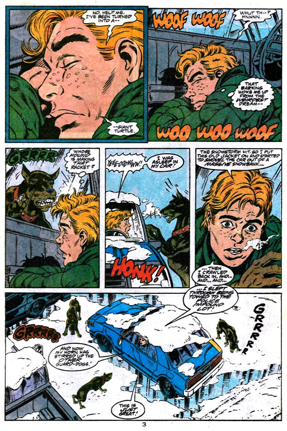 Read online Adventures of Superman (1987) comic -  Issue #486 - 4