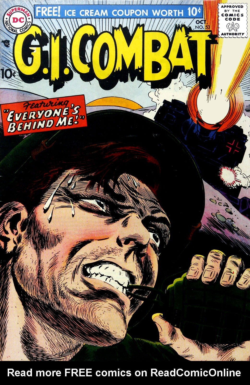 G.I. Combat (1952) 53 Page 1