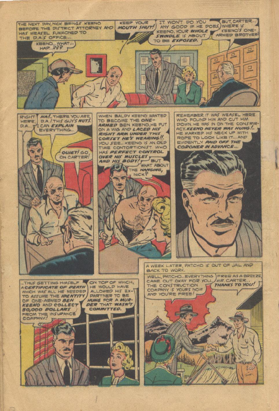 Read online Shadow Comics comic -  Issue #95 - 26