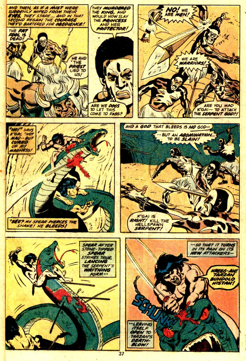 Read online Tarzan (1977) comic -  Issue # _Annual 2 - 29