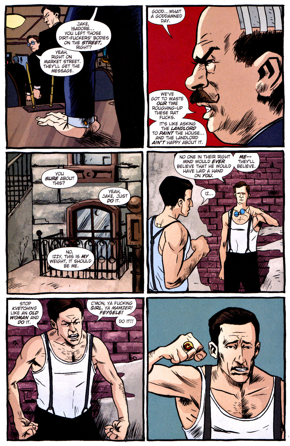 Read online Caper comic -  Issue #3 - 15