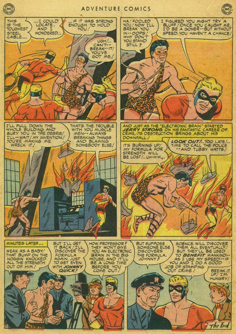 Read online Adventure Comics (1938) comic -  Issue #164 - 24