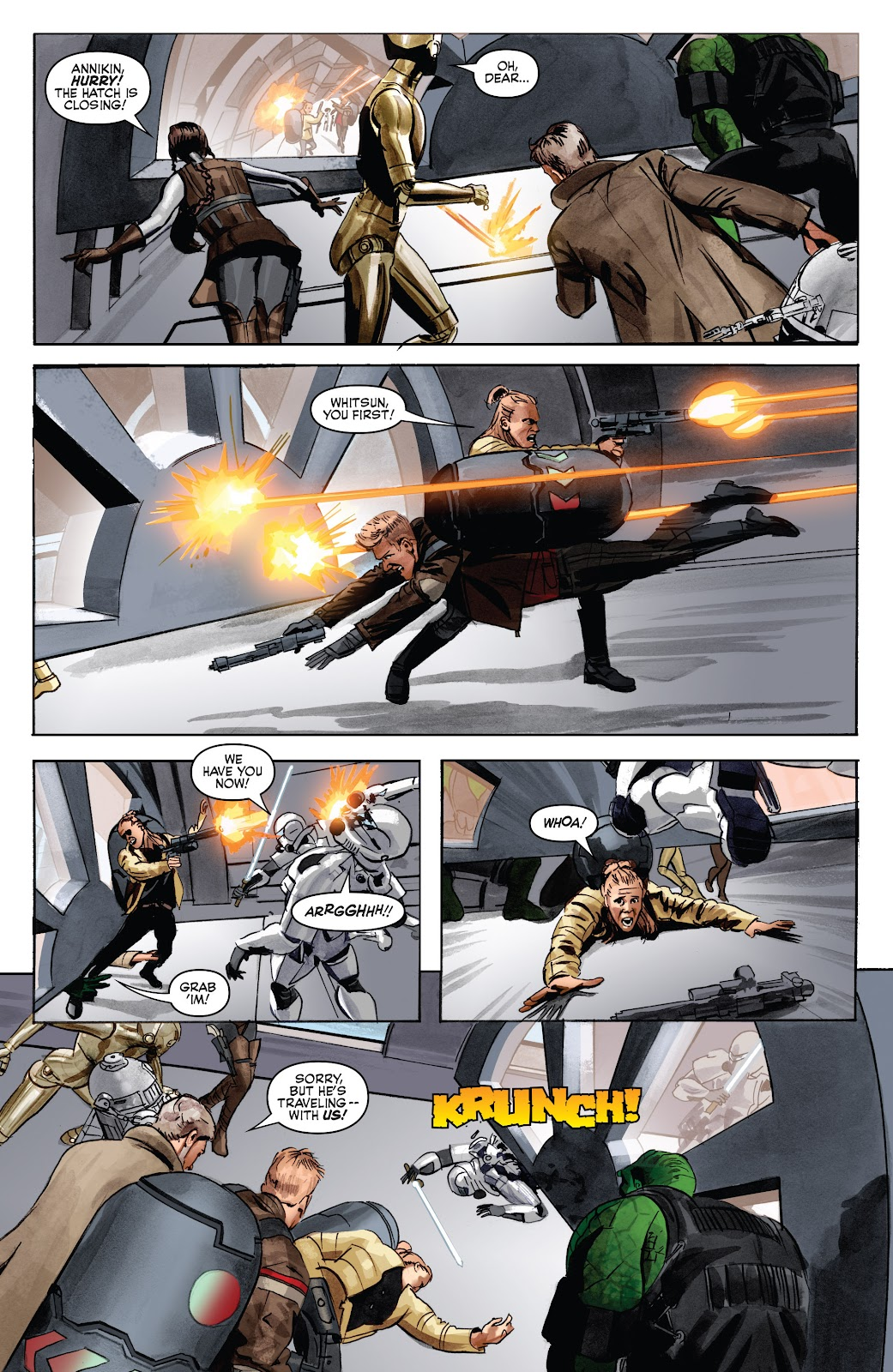 Read online Star Wars Legends: Infinities - Epic Collection comic -  Issue # TPB (Part 5) - 7