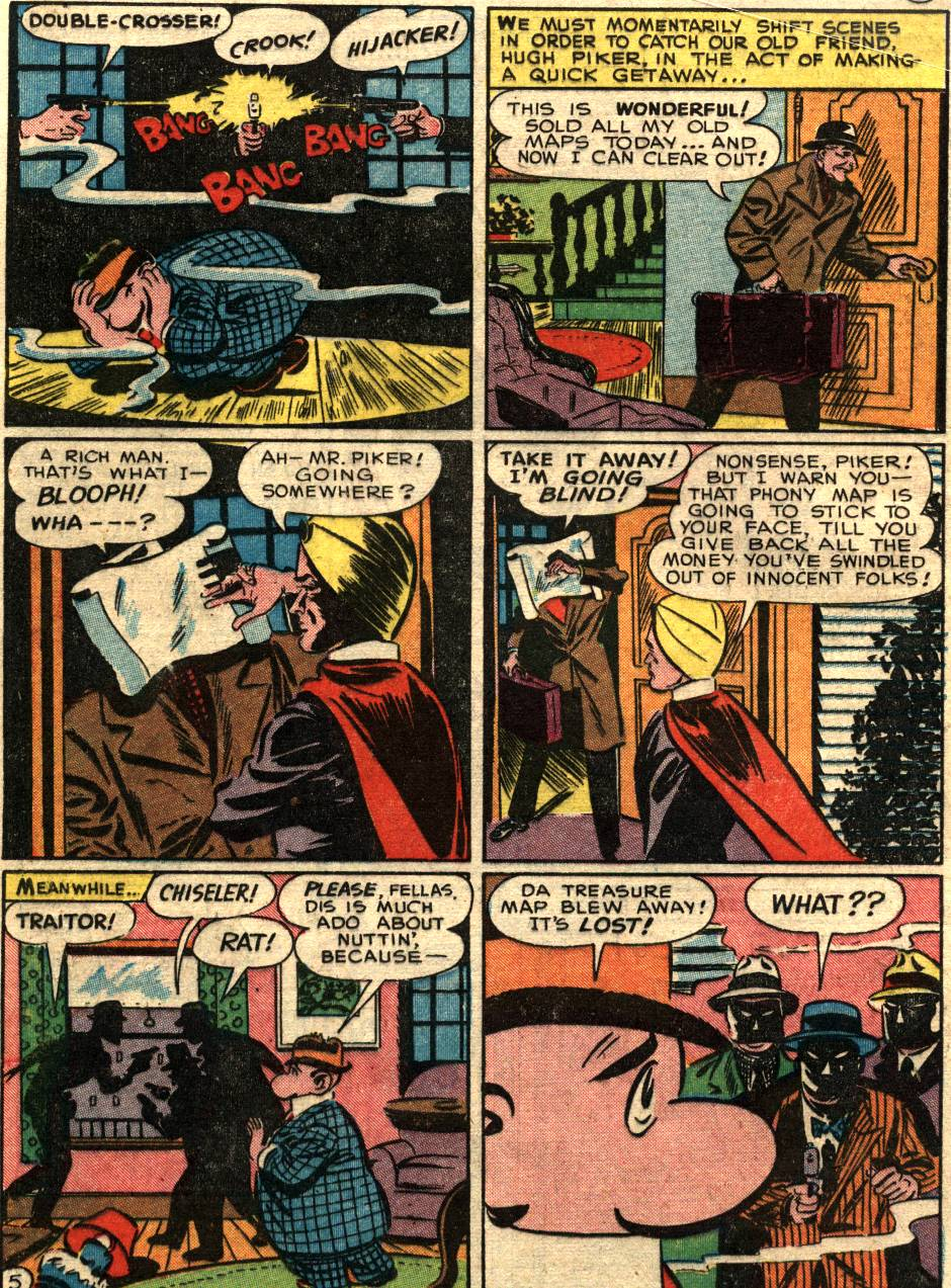 Read online Sensation (Mystery) Comics comic -  Issue #58 - 28
