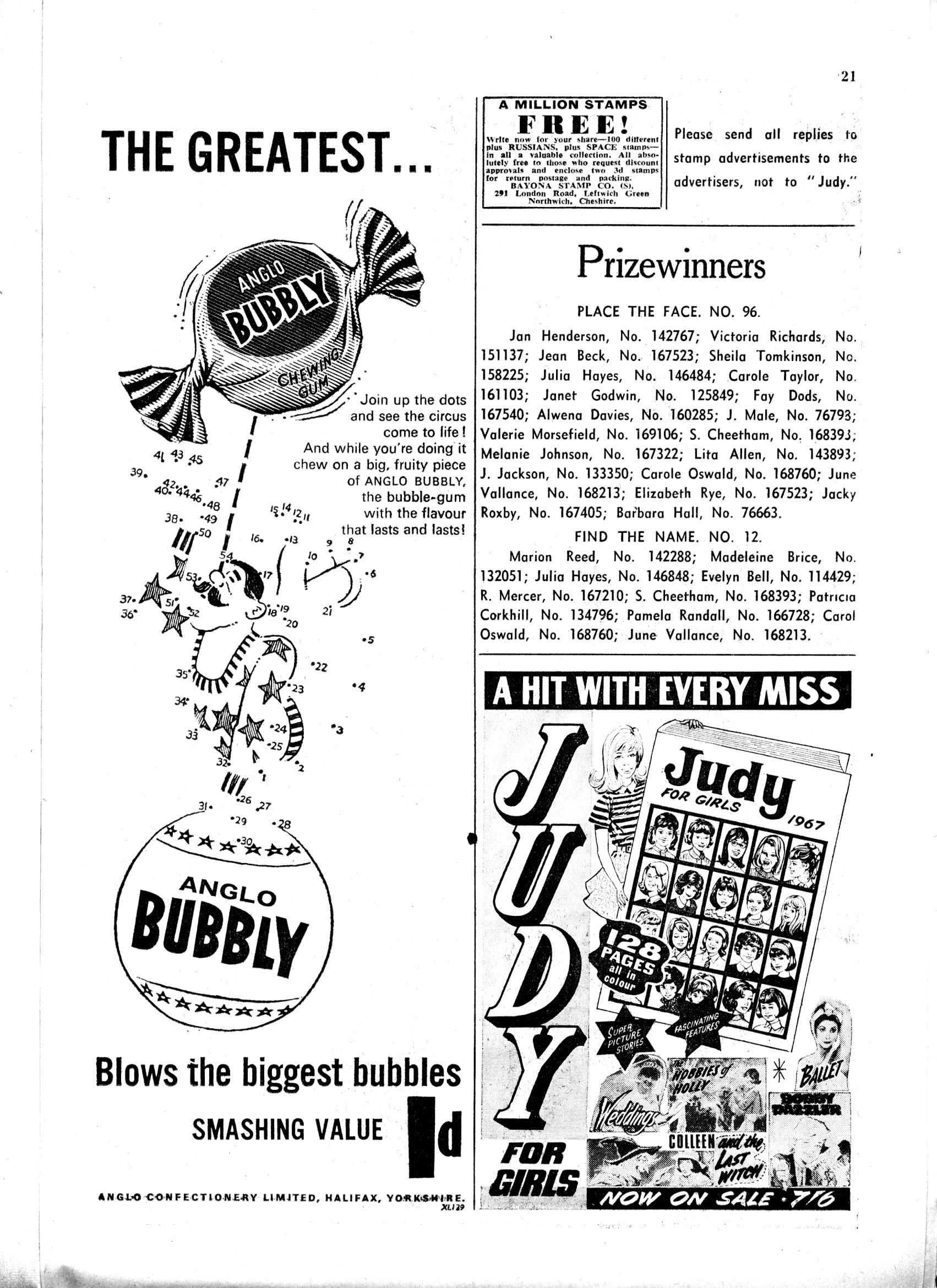 Read online Judy comic -  Issue #359 - 21