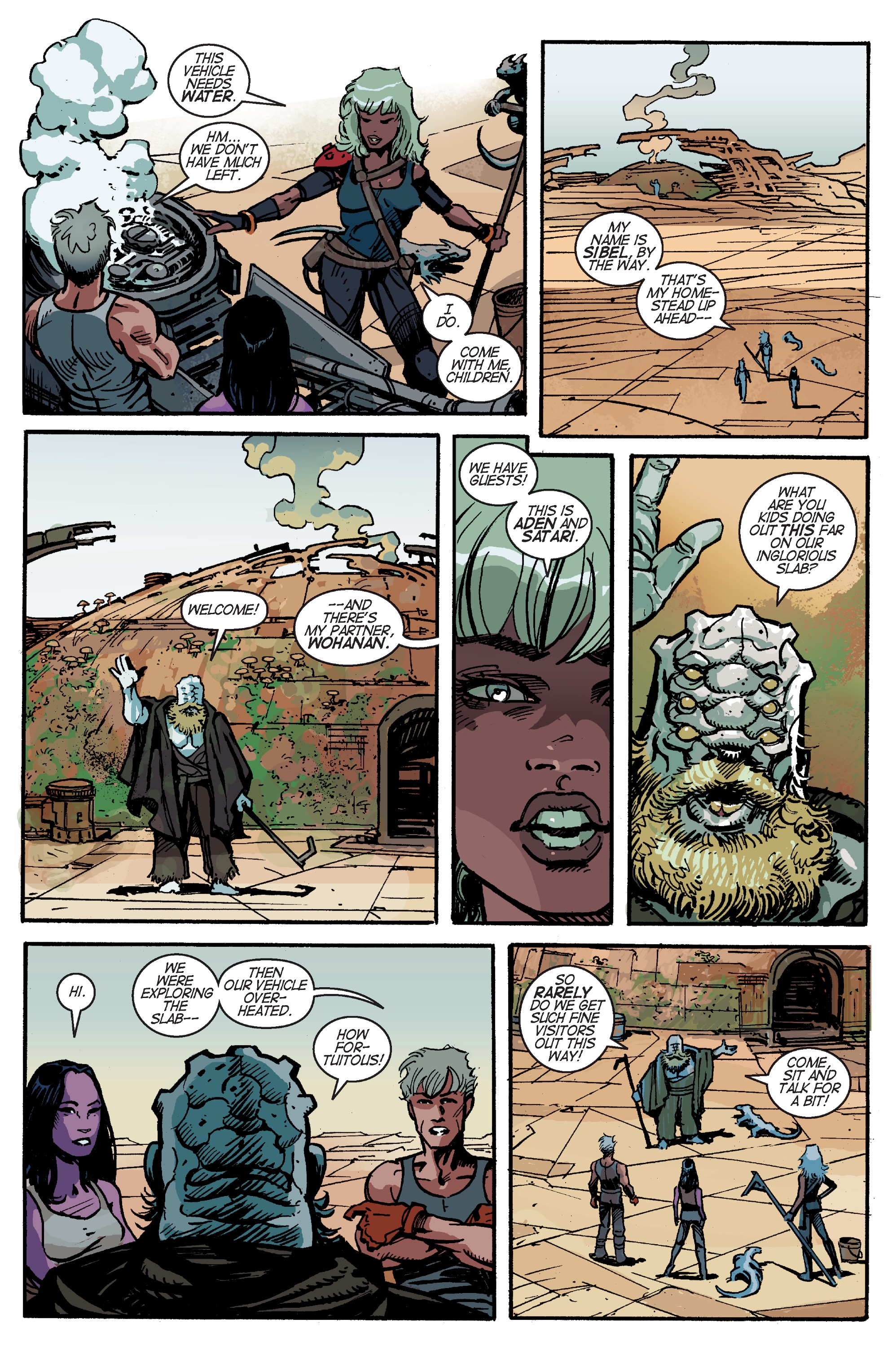 Read online Planetoid Praxis comic -  Issue #4 - 20