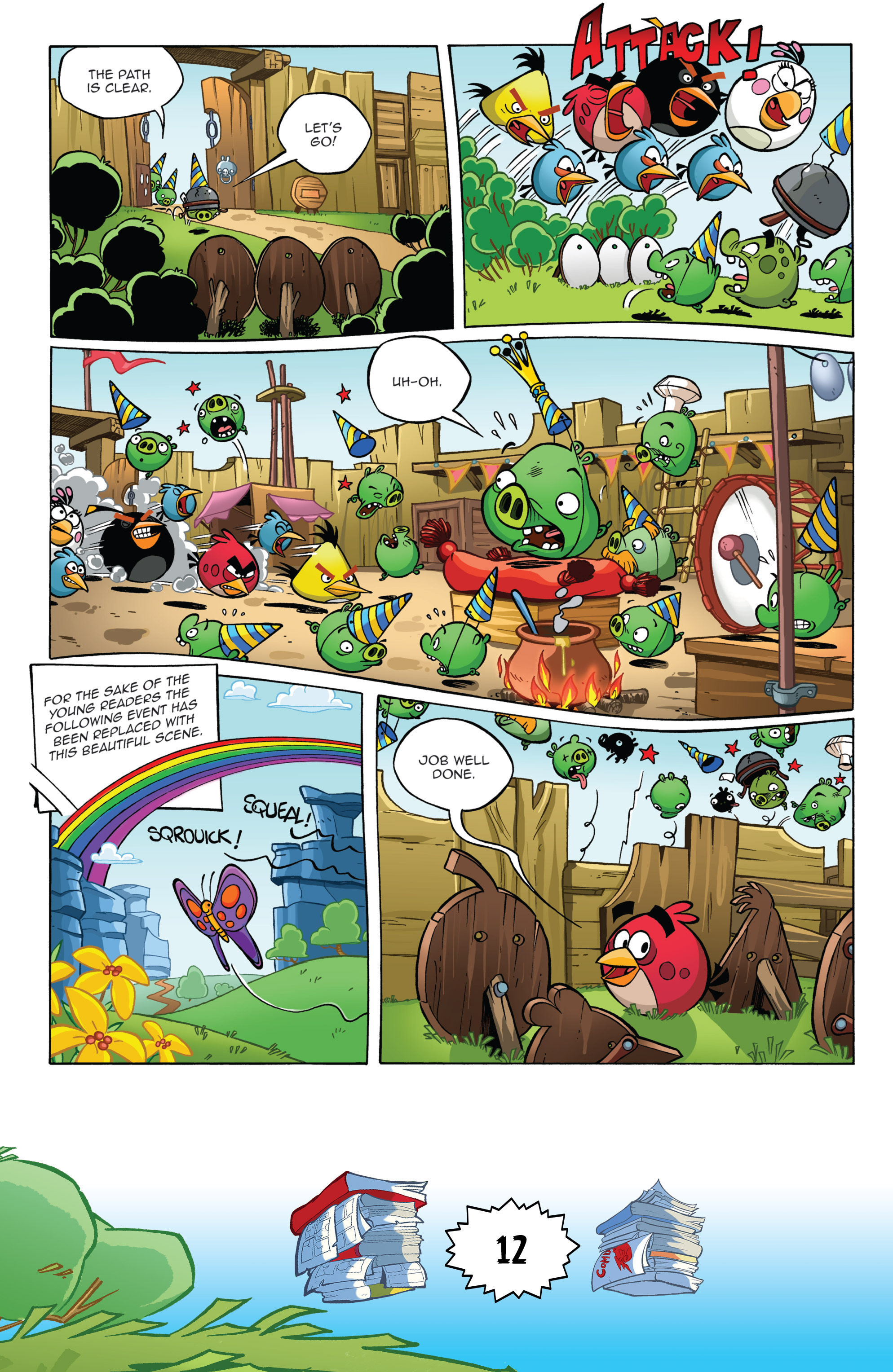 Read online Angry Birds Comics (2016) comic -  Issue #6 - 14