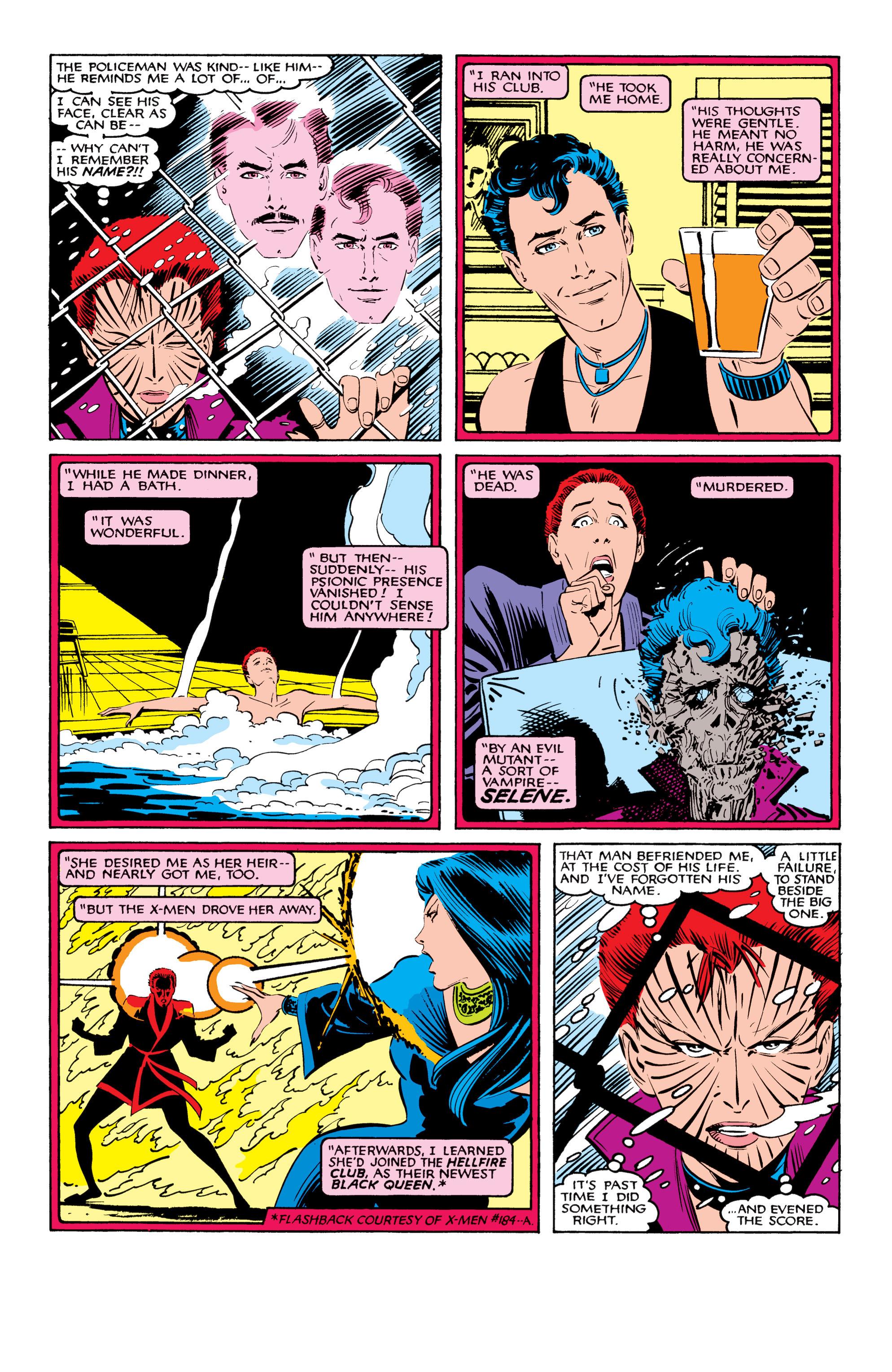 Read online Uncanny X-Men (1963) comic -  Issue #207 - 17
