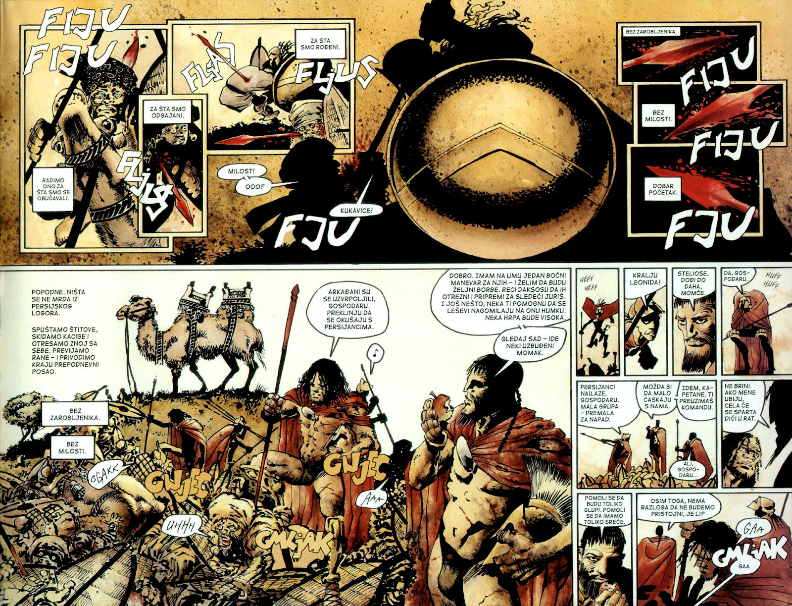Read online 300 (2007) comic -  Issue # TPB - 54